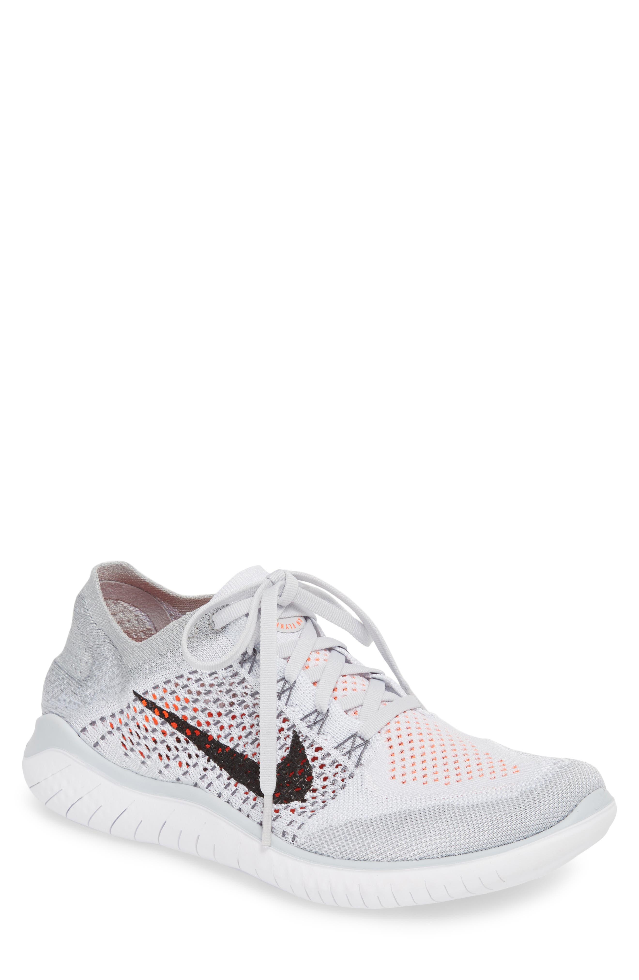 Main Image - Nike Free RN Flyknit 2018 Running Shoe (Men)