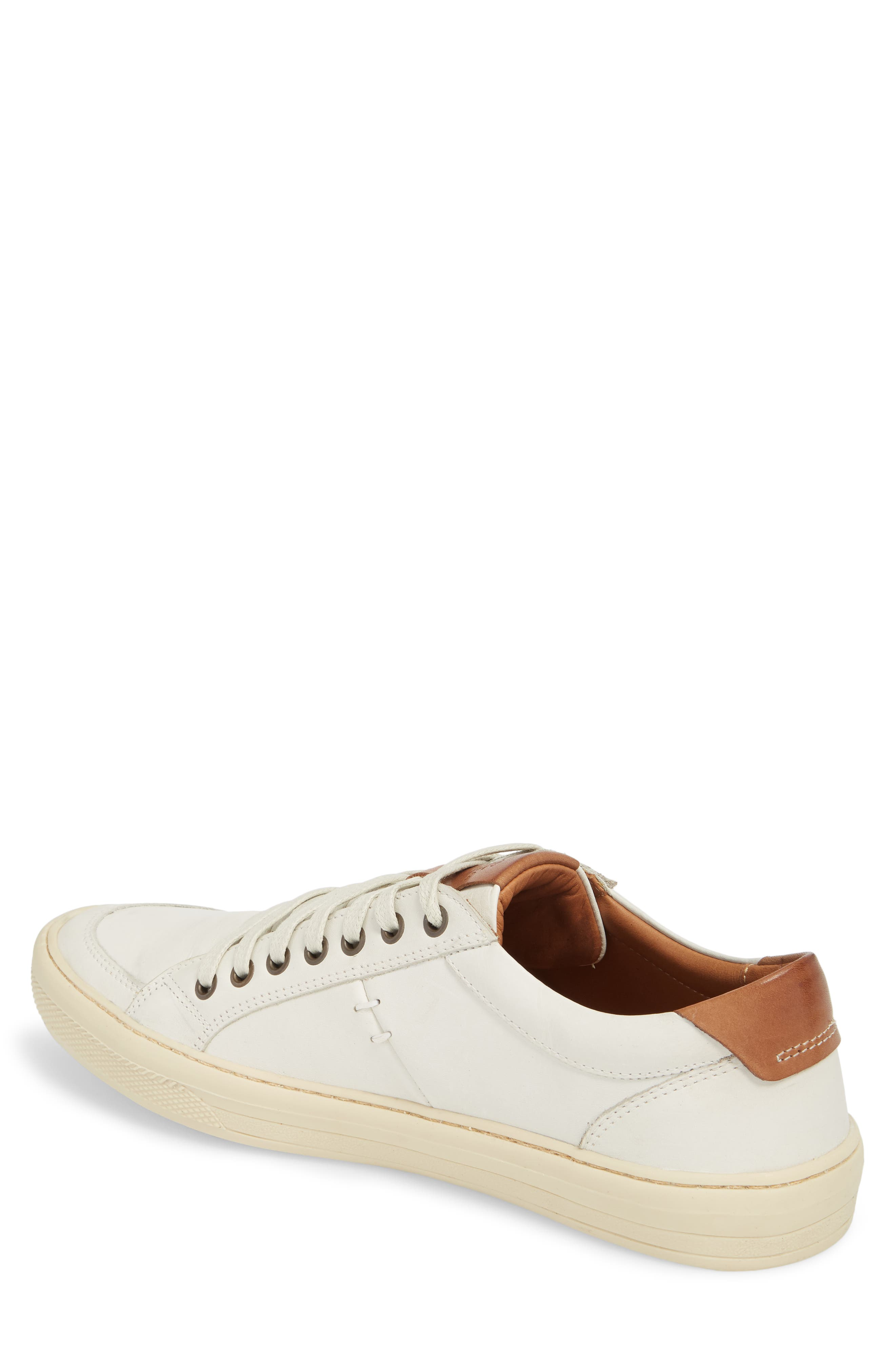 Bilac Low Top Sneaker,                             Alternate thumbnail 2, color,                             Touch Ice/ Bronze Leather