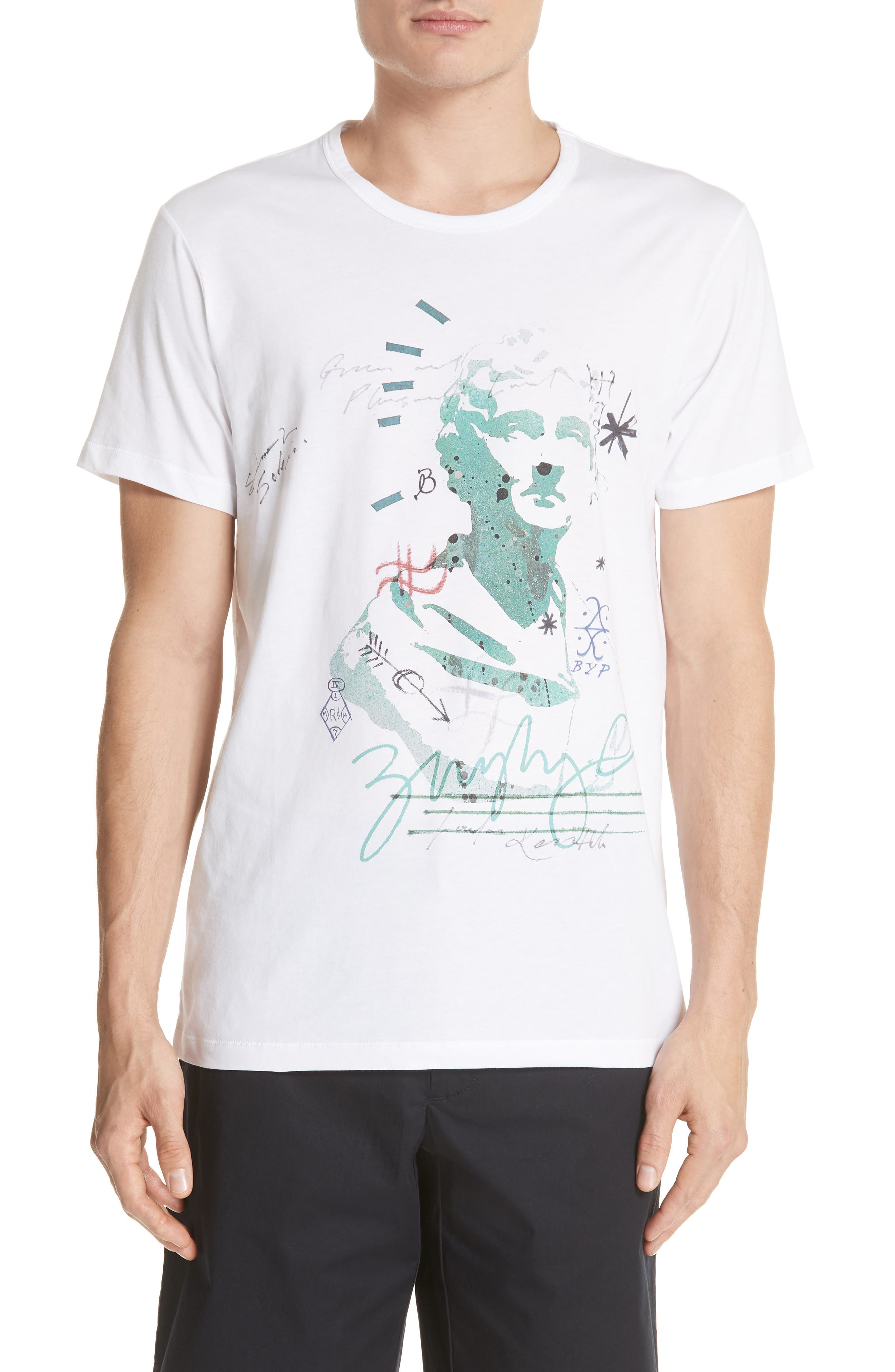 Alternate Image 1 Selected - Burberry Camberley Abith Graphic T-Shirt