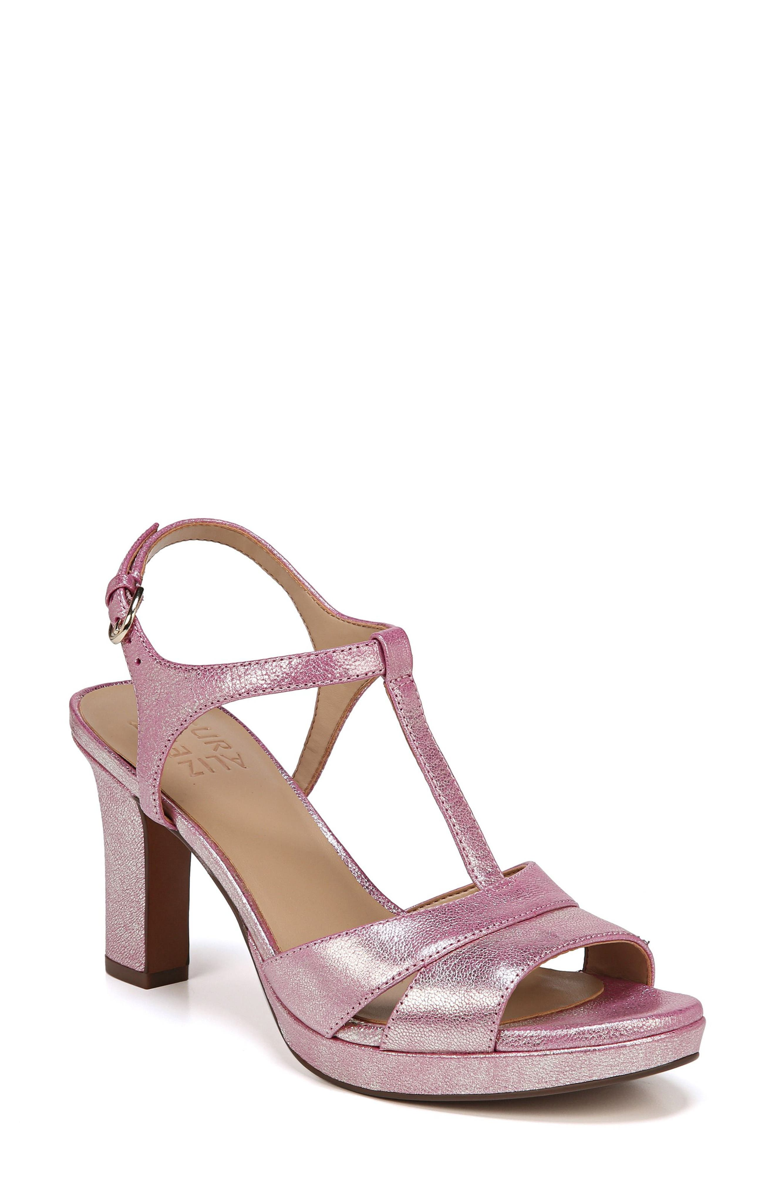 Finn Sandal,                         Main,                         color, Pink Leather