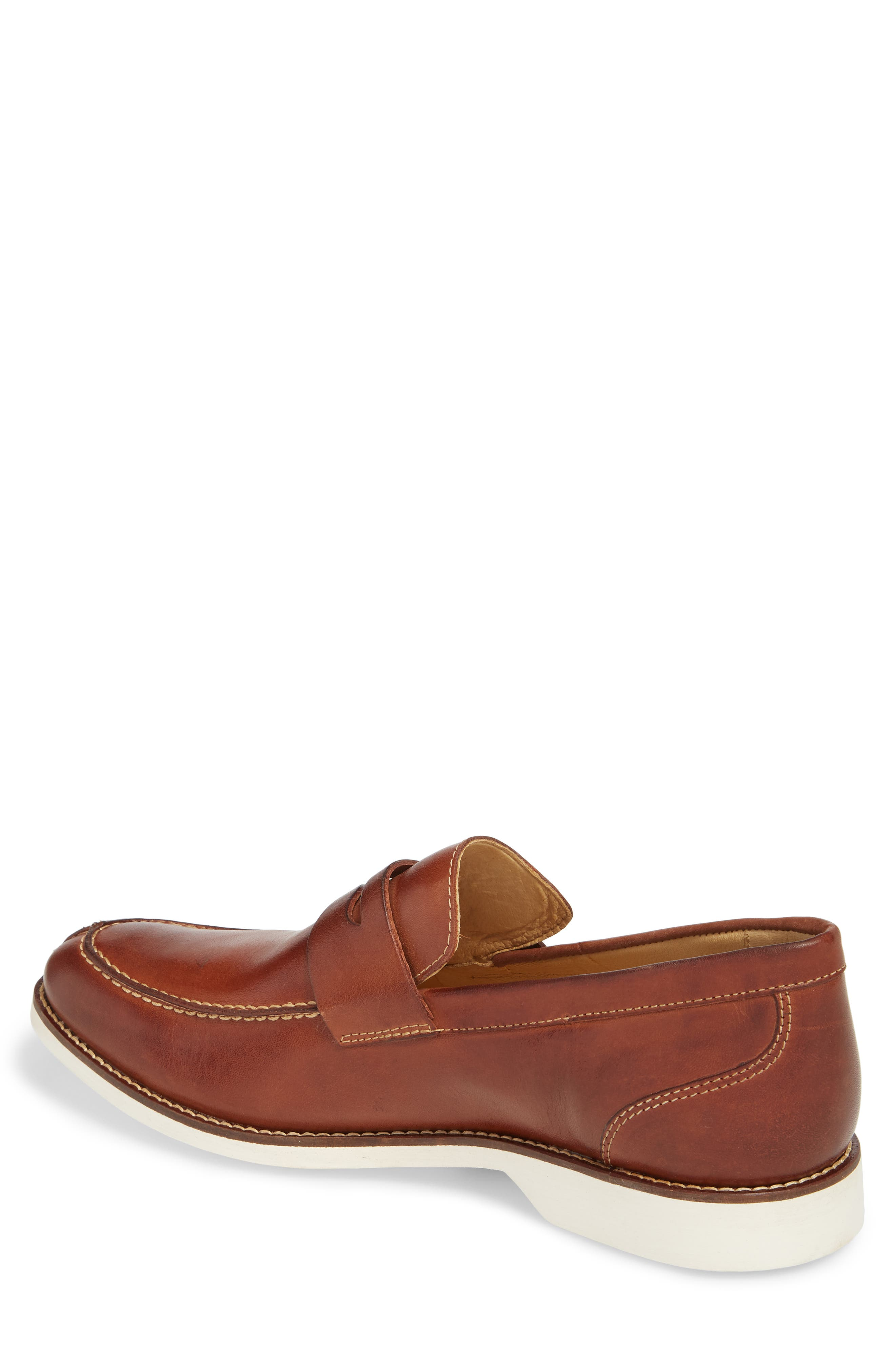 Senador Penny Loafer,                             Alternate thumbnail 2, color,                             Touch Havana Leather