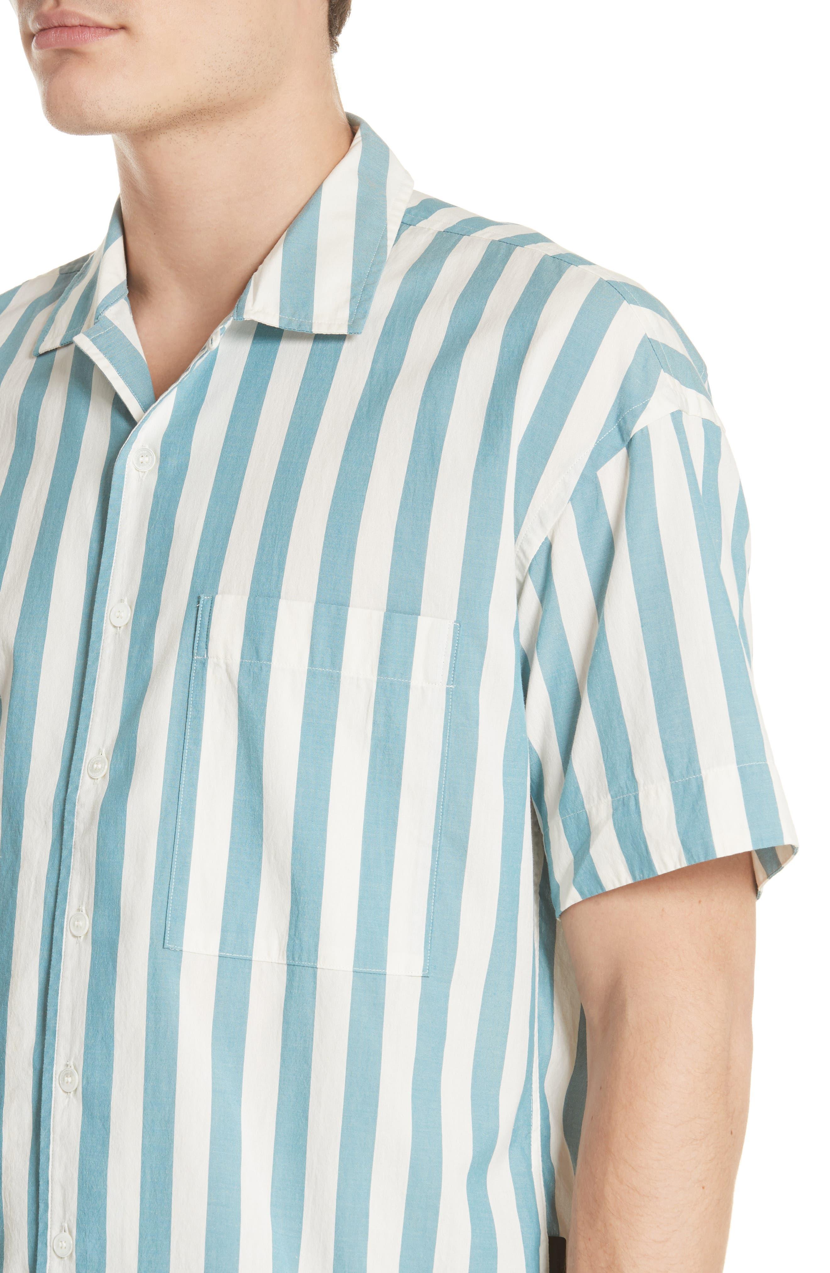 Harley Stripe Shirt,                             Alternate thumbnail 2, color,                             Pale Opal