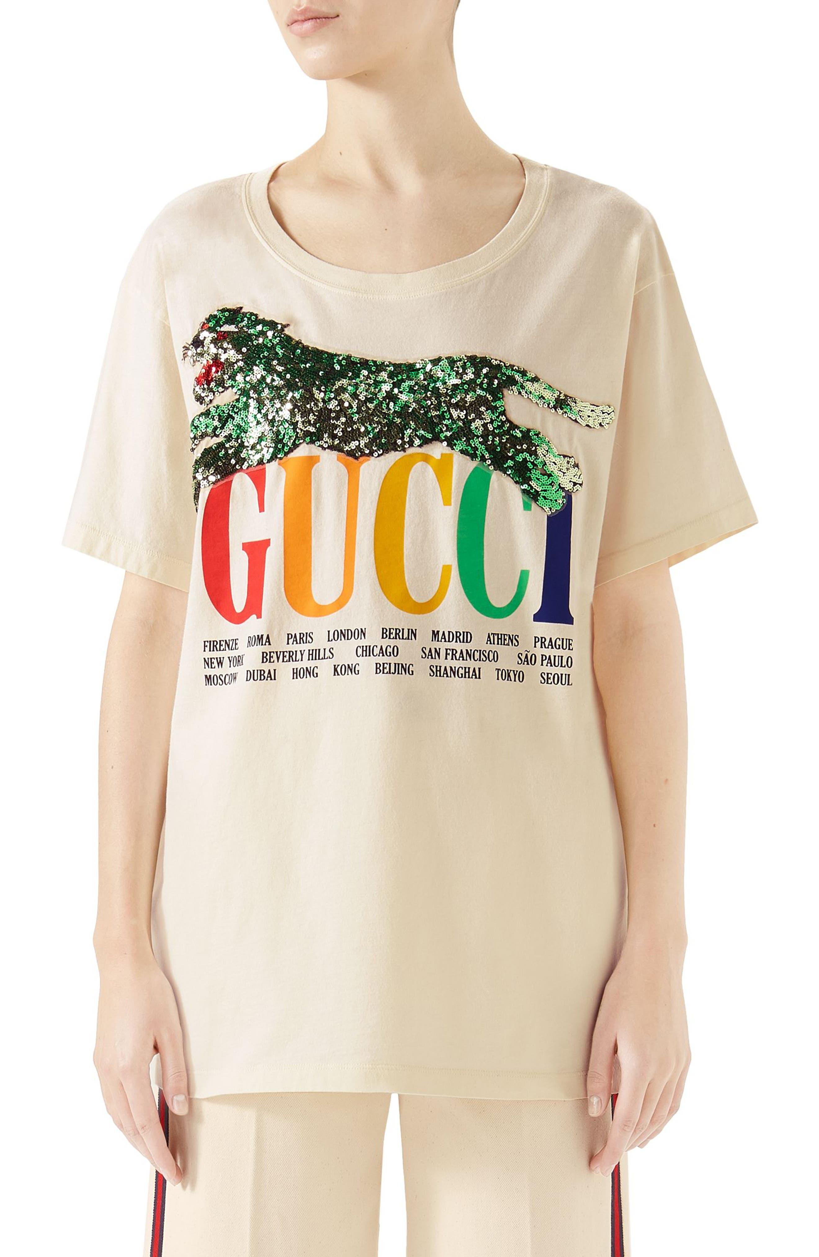 85165041748 Gucci  WoMen s T-Shirts