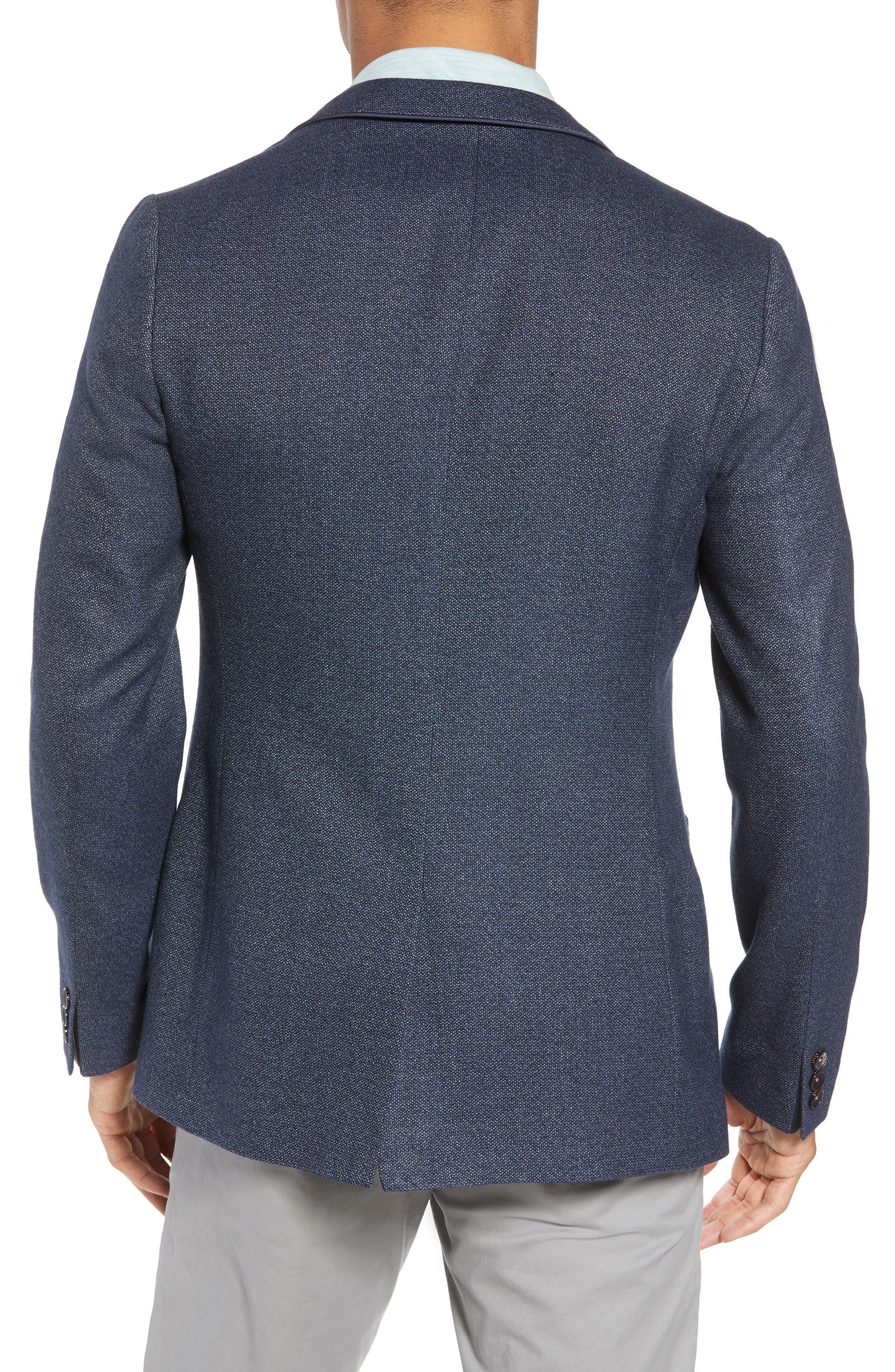 Beek Trim Fit Sport Coat,                             Alternate thumbnail 2, color,                             Navy