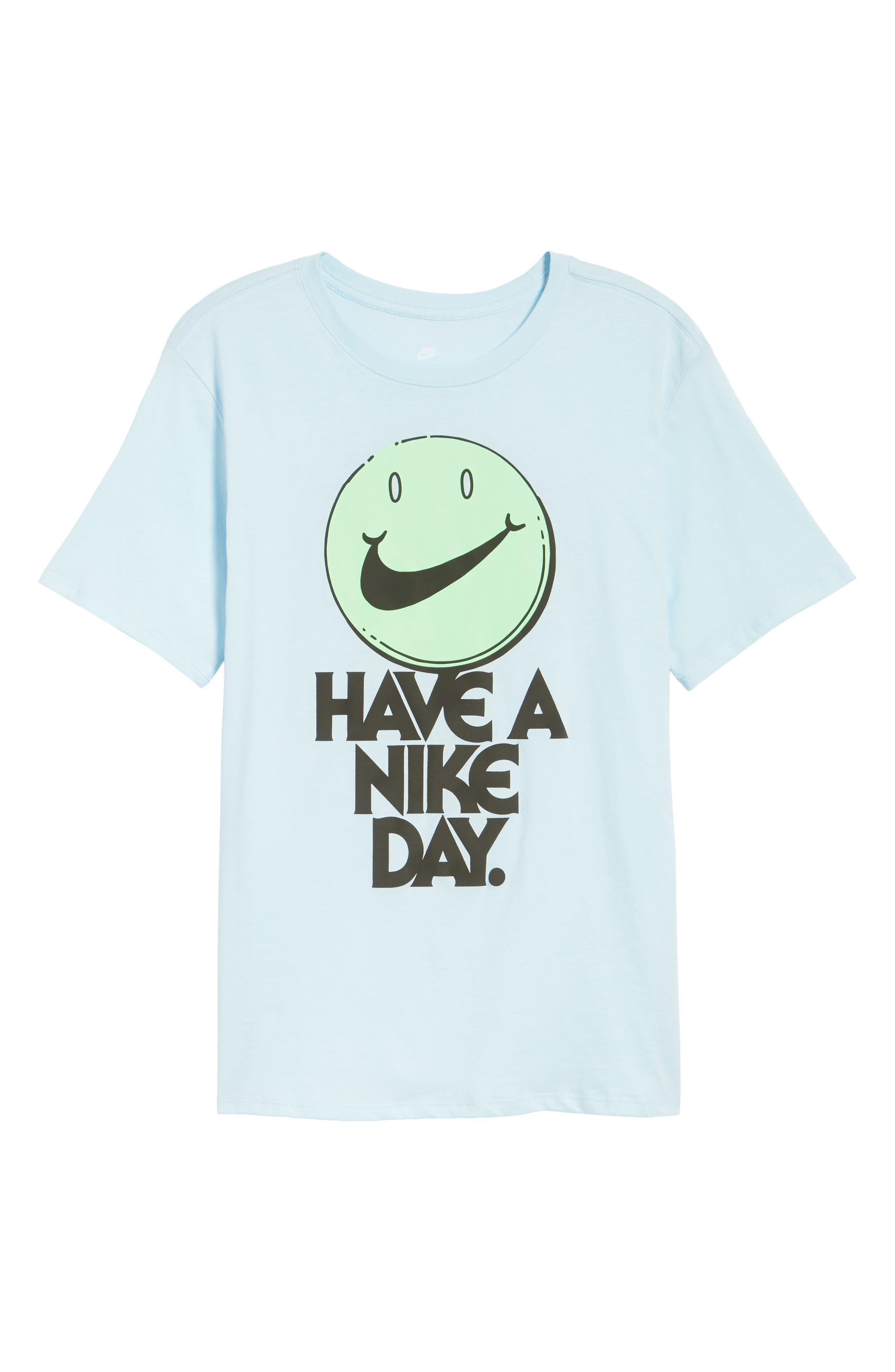 Concept Graphic T-Shirt,                             Alternate thumbnail 6, color,                             Cobalt Tint/ Illusion Green