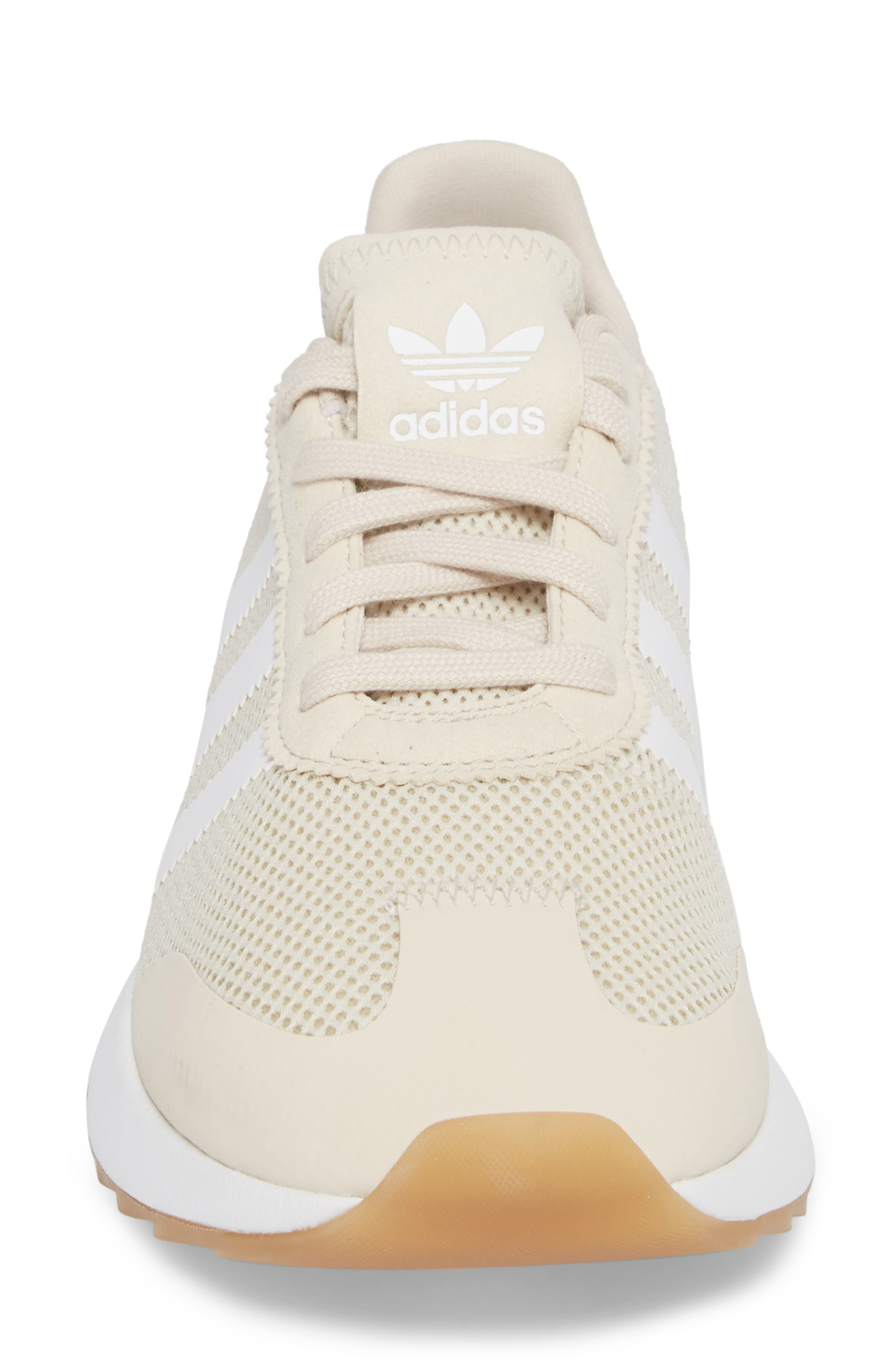 Flashback Sneaker,                             Alternate thumbnail 4, color,                             Clear Brown/ Brown/ White