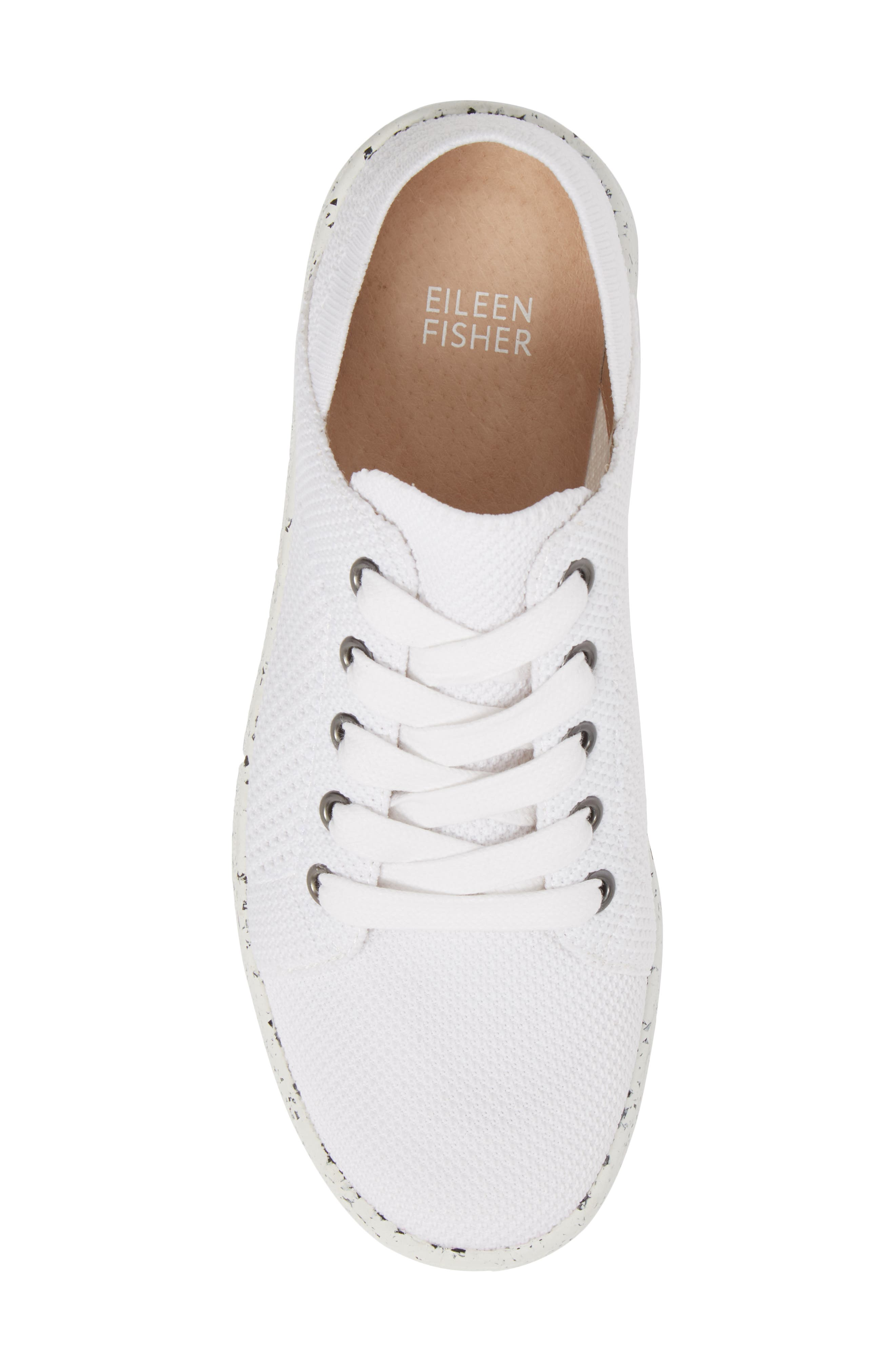 Clifton Sneaker,                             Alternate thumbnail 5, color,                             White Fabric