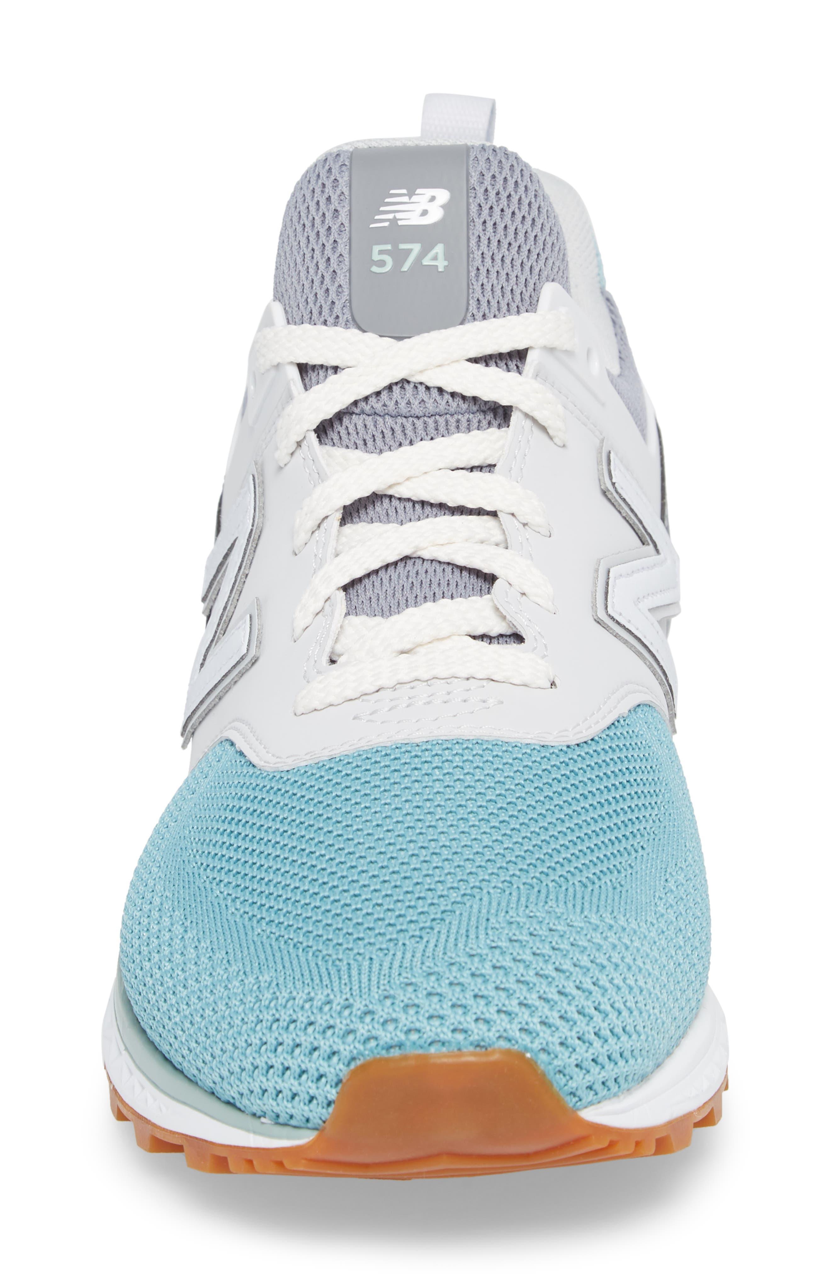 574 Fresh Foam Sport Sneaker,                             Alternate thumbnail 4, color,                             Gunmetal