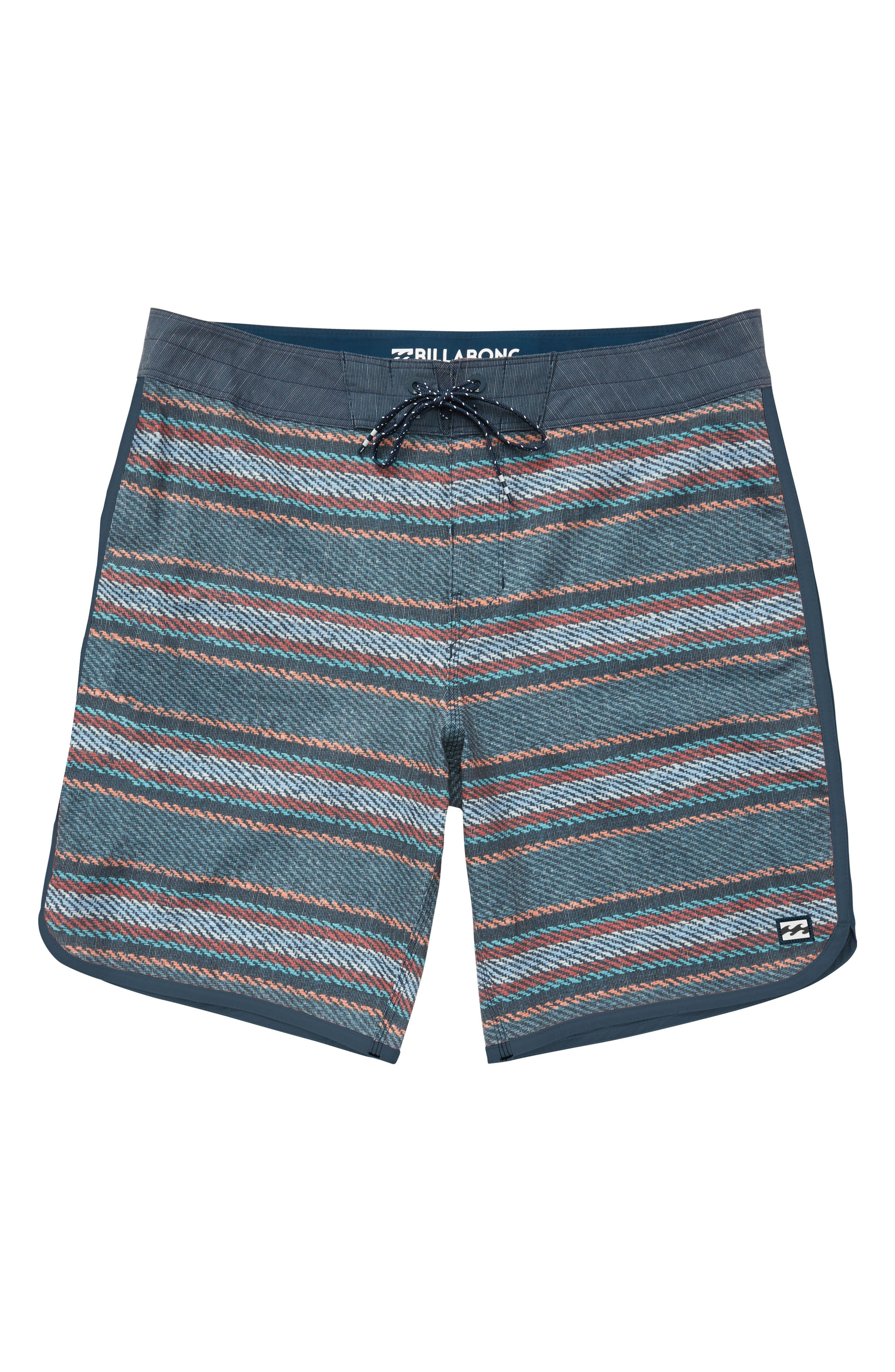 73 X Line Up Board Shorts,                         Main,                         color, Blue