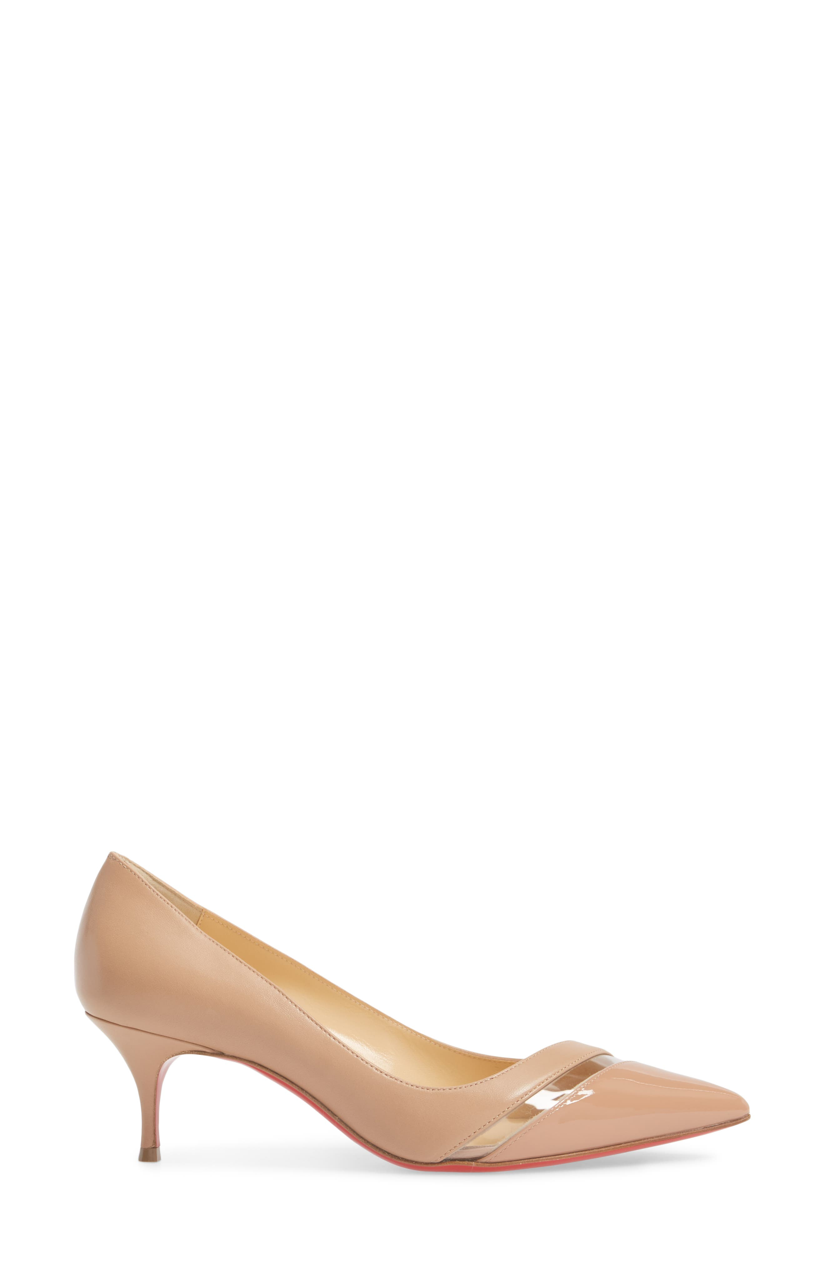 17th Floor Pointy Toe Pump,                             Alternate thumbnail 3, color,                             Nude