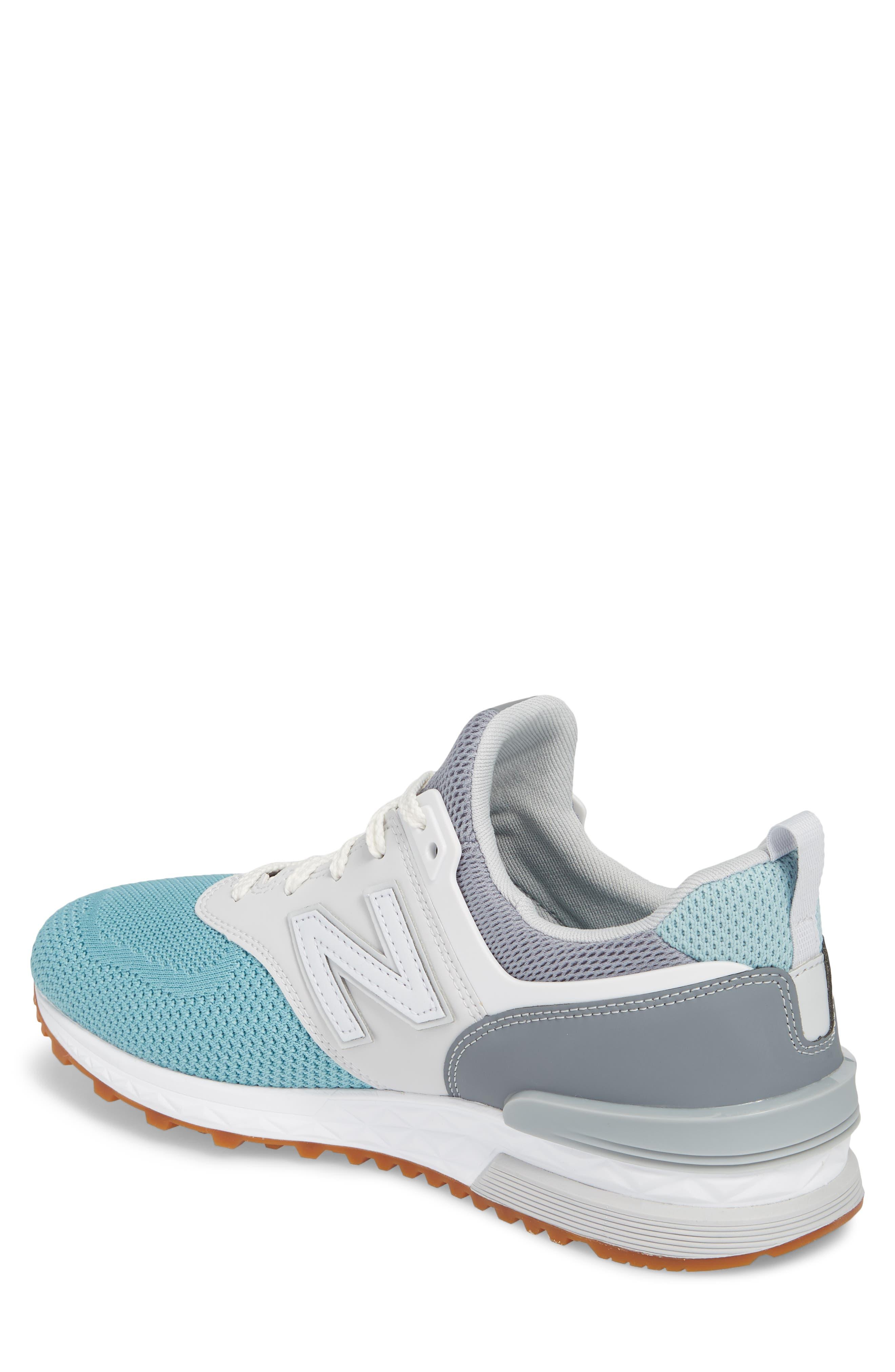 574 Fresh Foam Sport Sneaker,                             Alternate thumbnail 2, color,                             Gunmetal