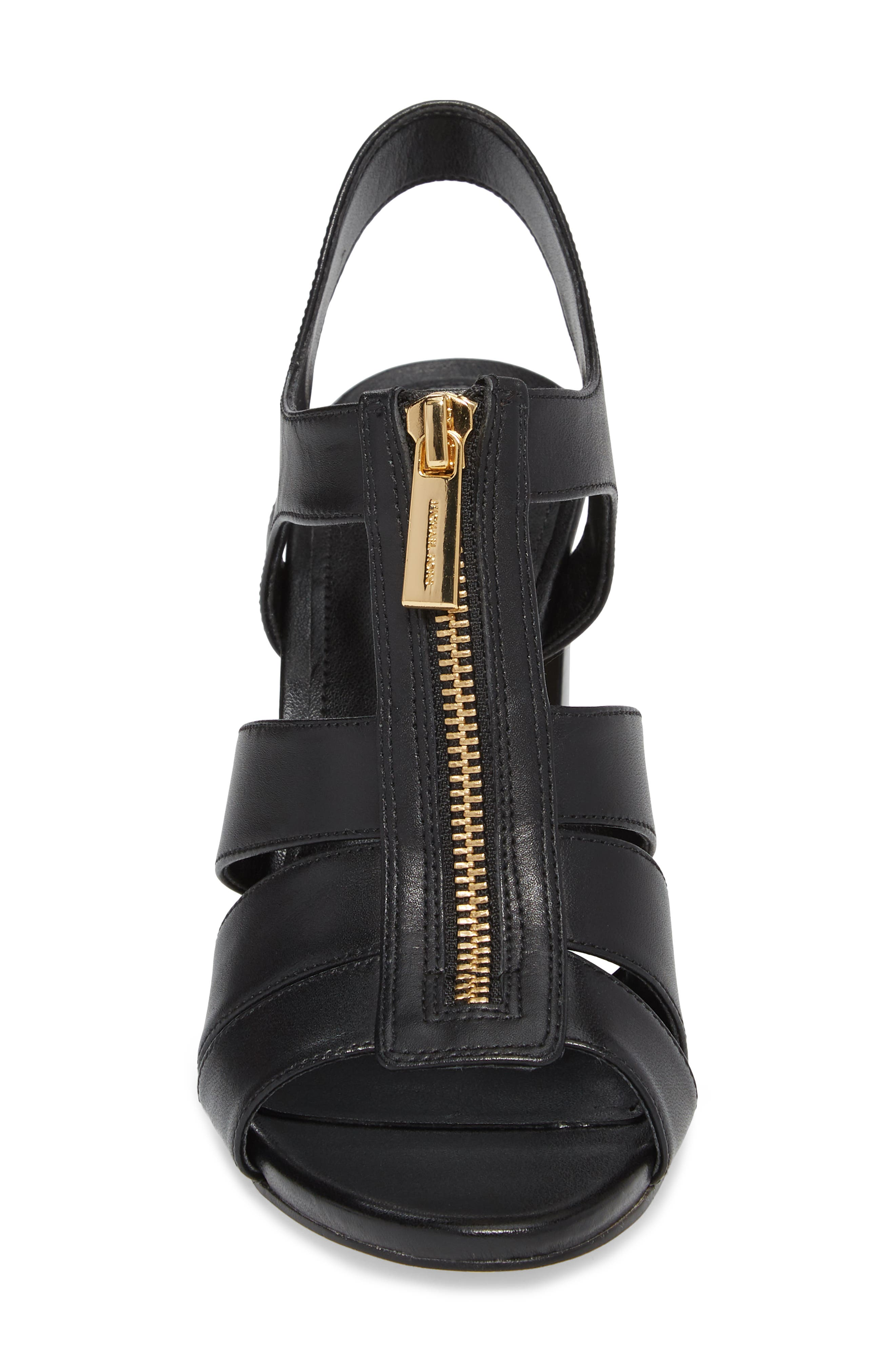 Damita Sandal,                             Alternate thumbnail 4, color,                             Black