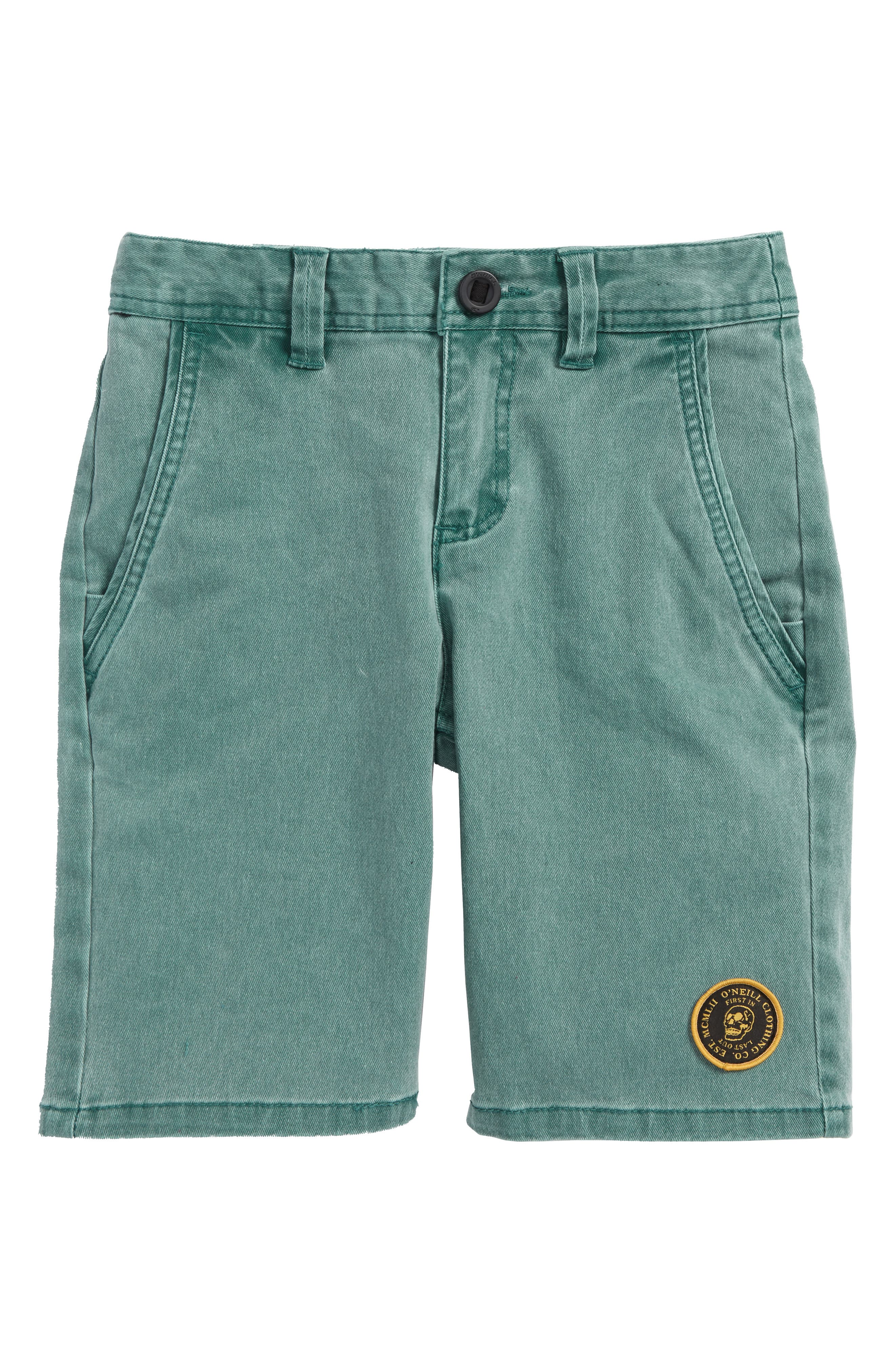 Rialto Shorts,                         Main,                         color, Forest Green