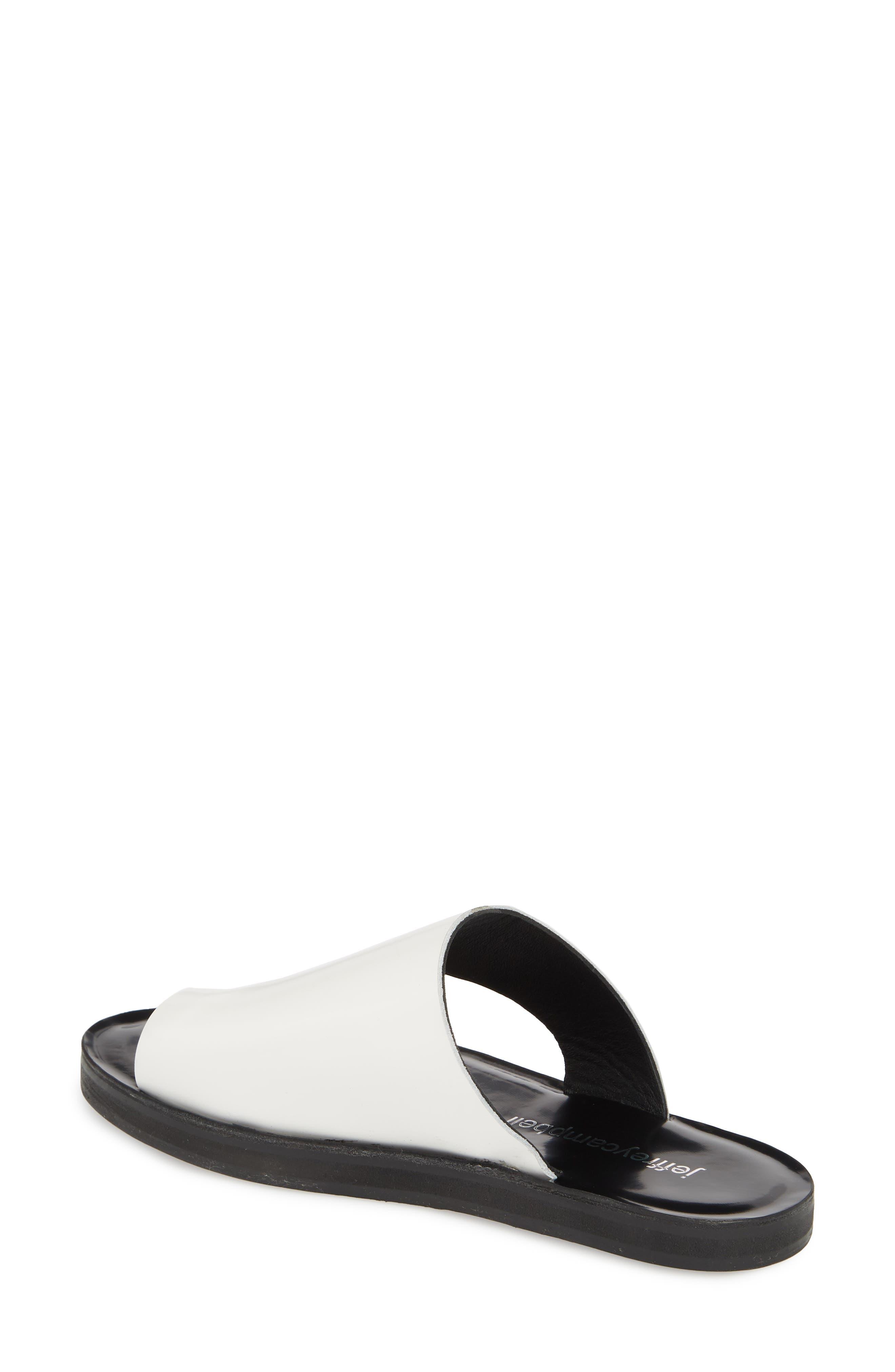 Alternate Image 2  - Jeffrey Campbell Morada Asymmetrical Slide Sandal (Women)