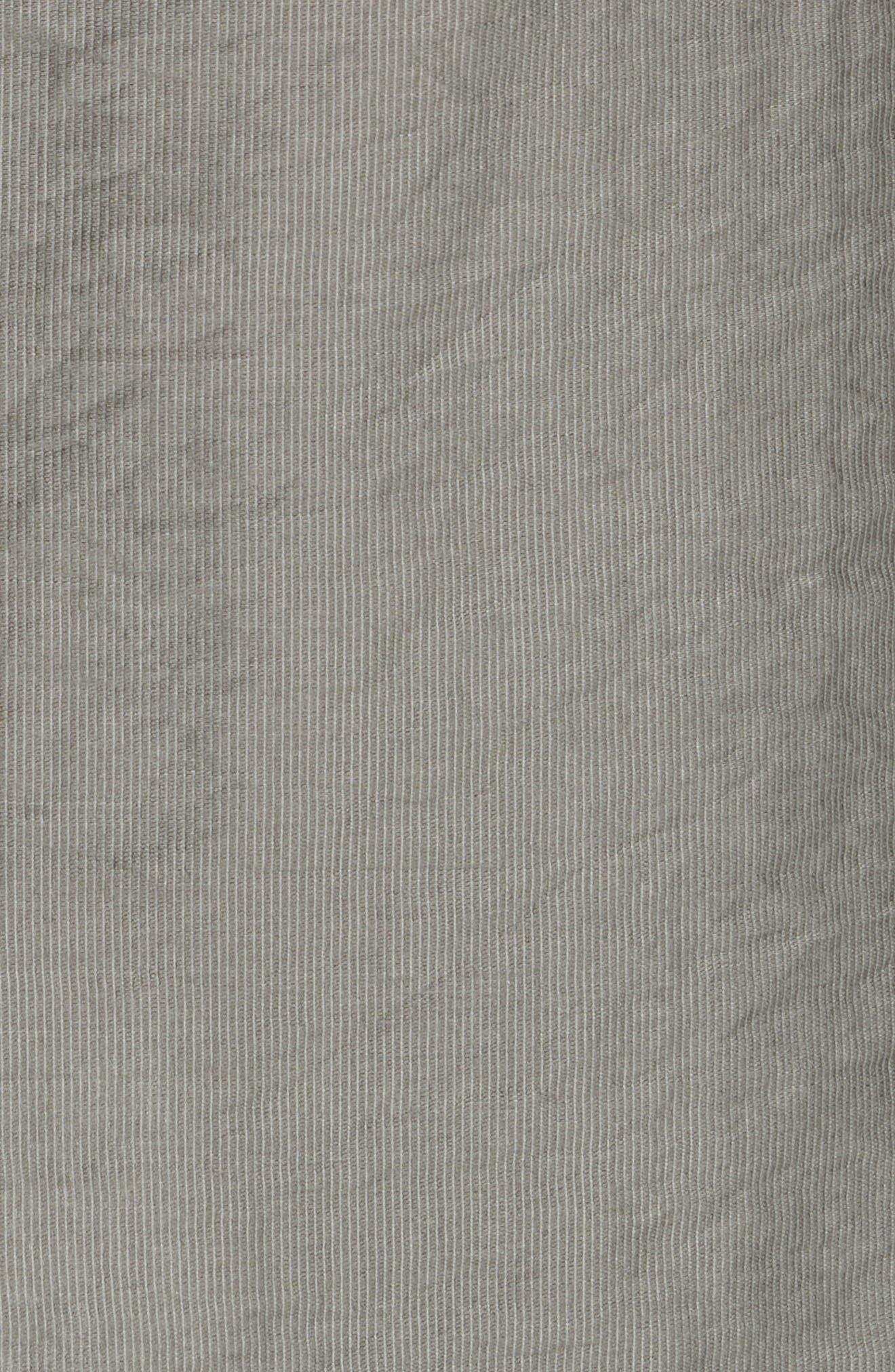 Erlecia Wrap Skirt,                             Alternate thumbnail 6, color,                             Moss
