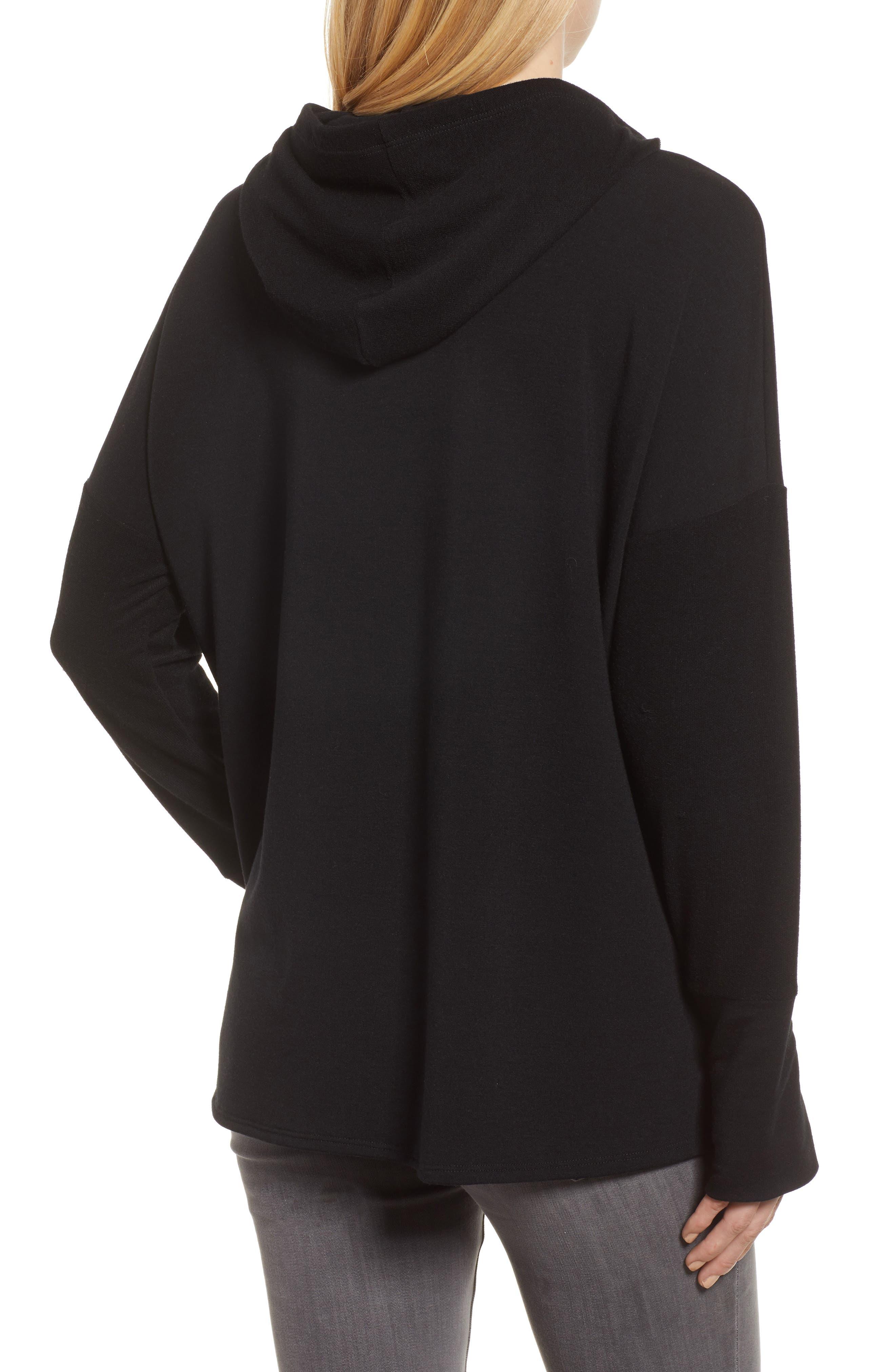 Off-Duty Hooded Sweatshirt,                             Alternate thumbnail 2, color,                             Black