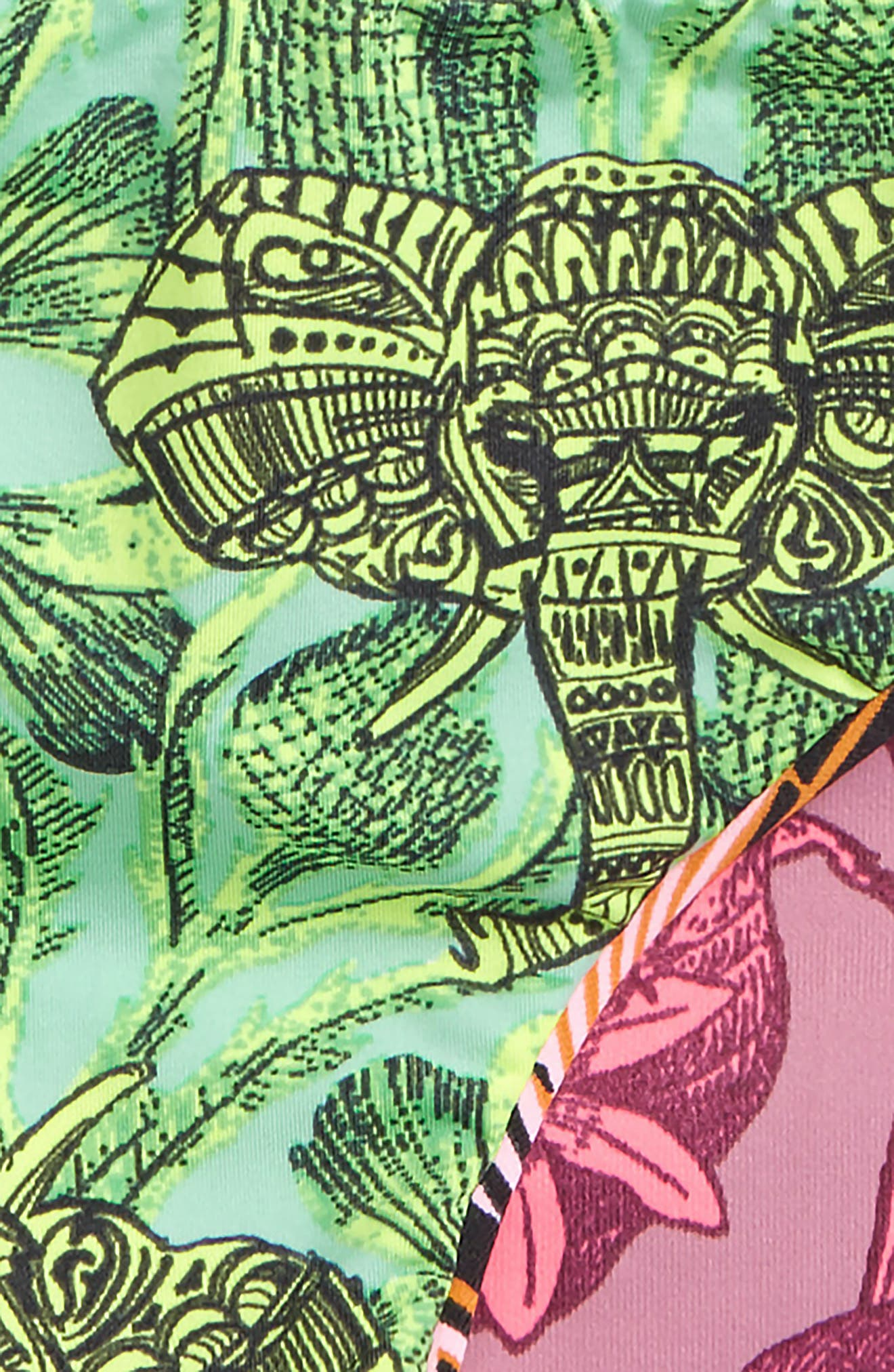 Timia Landscape Reversible Two-Piece Swimsuit,                             Alternate thumbnail 4, color,                             Pink