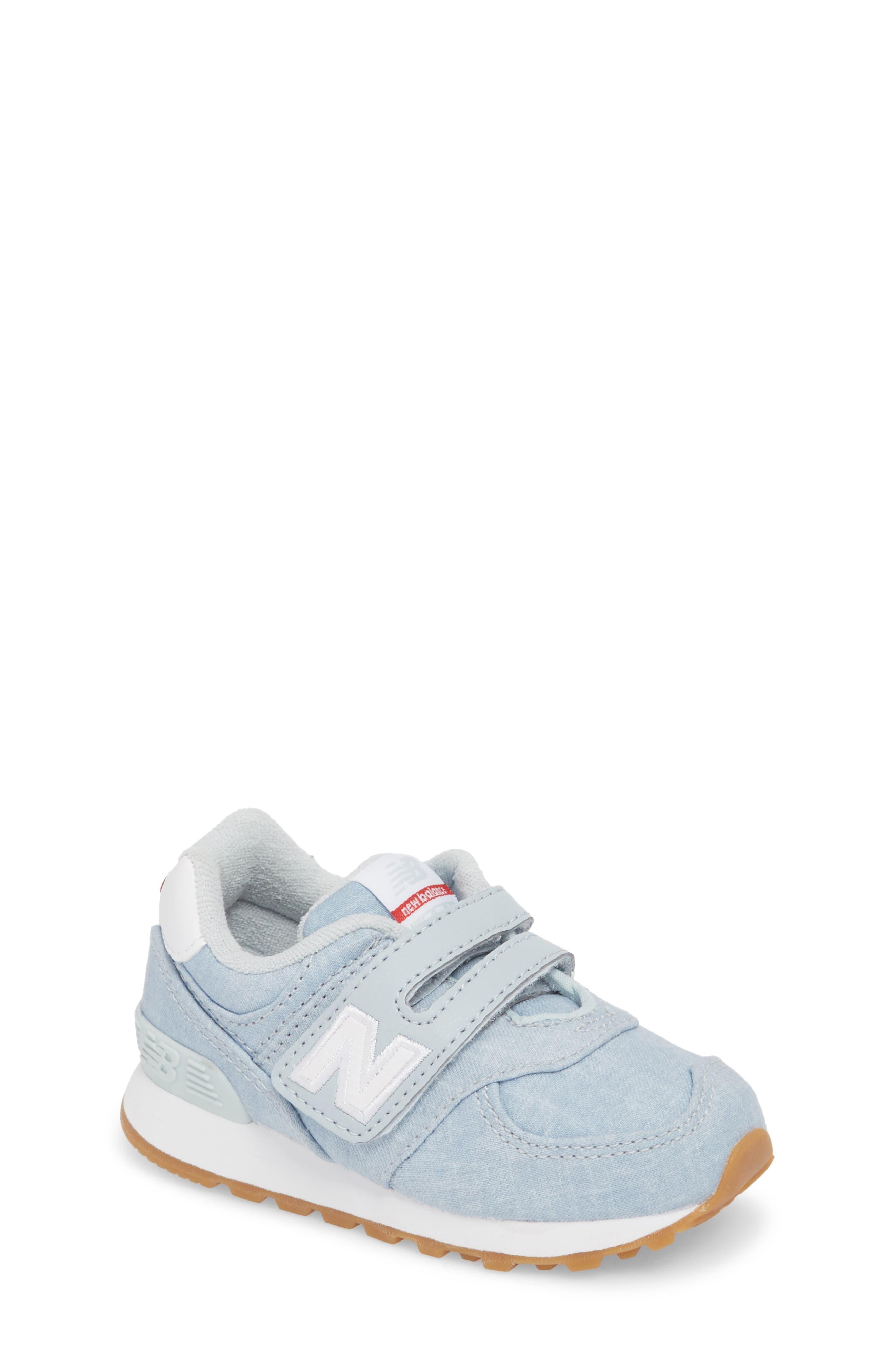 574v1 Sneaker,                             Main thumbnail 1, color,                             Light Porcelain Blue