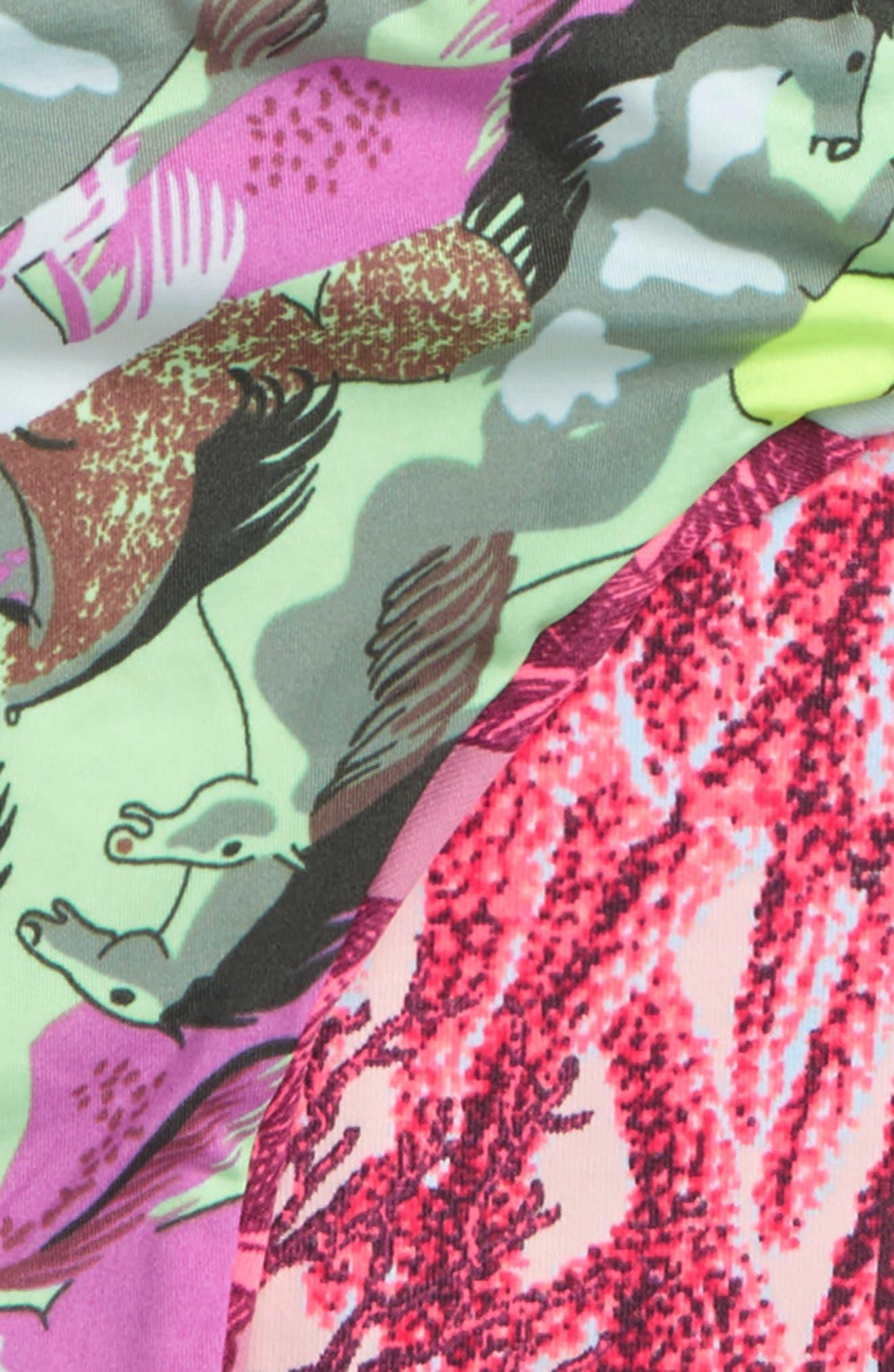 Little Rainforest Two-Piece Swimsuit,                             Alternate thumbnail 3, color,                             Pink