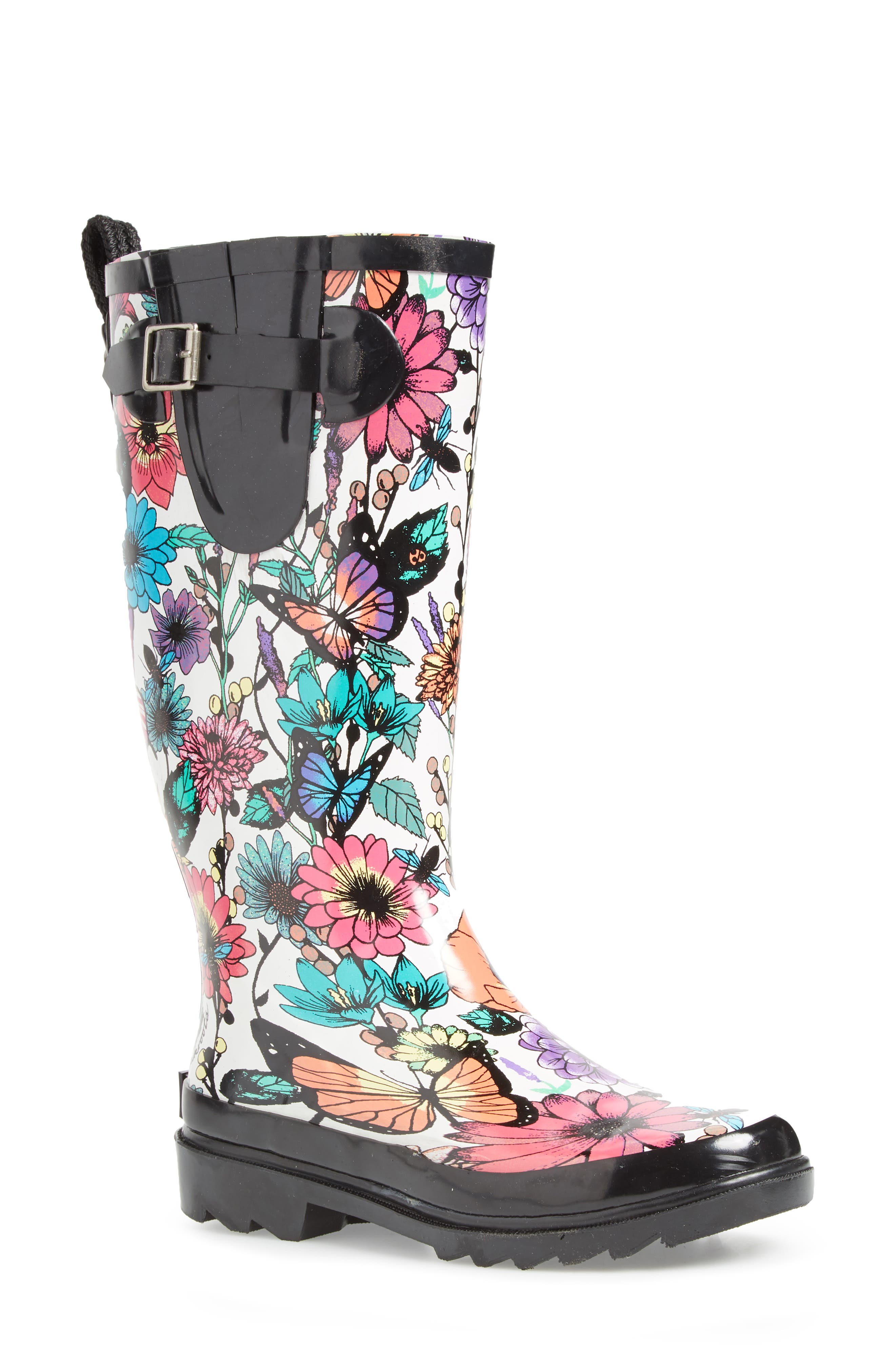 Sakroots 'Rhythm' Waterproof Rain Boot ...