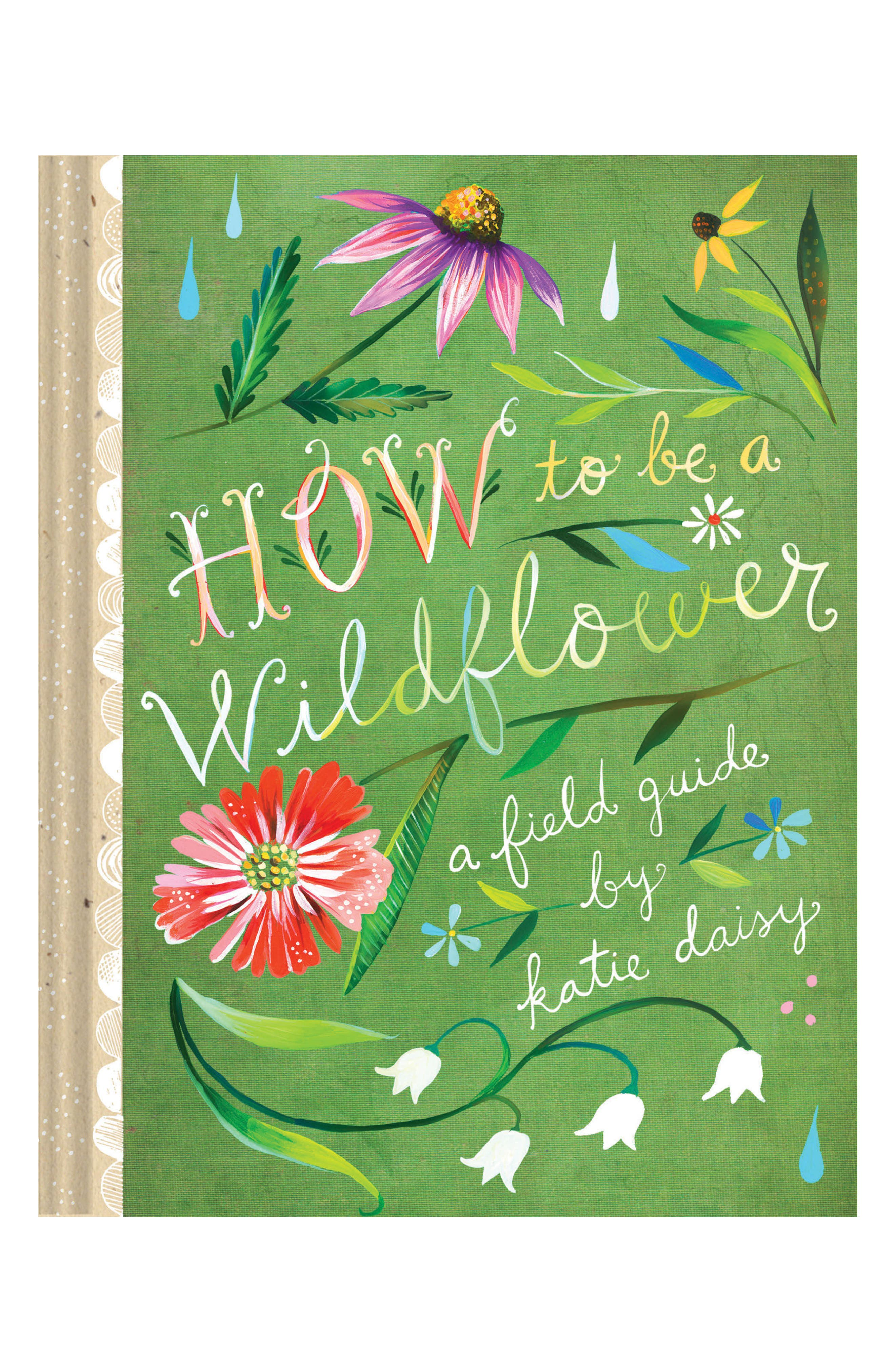 How To Be A Wildflower Book,                             Main thumbnail 1, color,                             Green