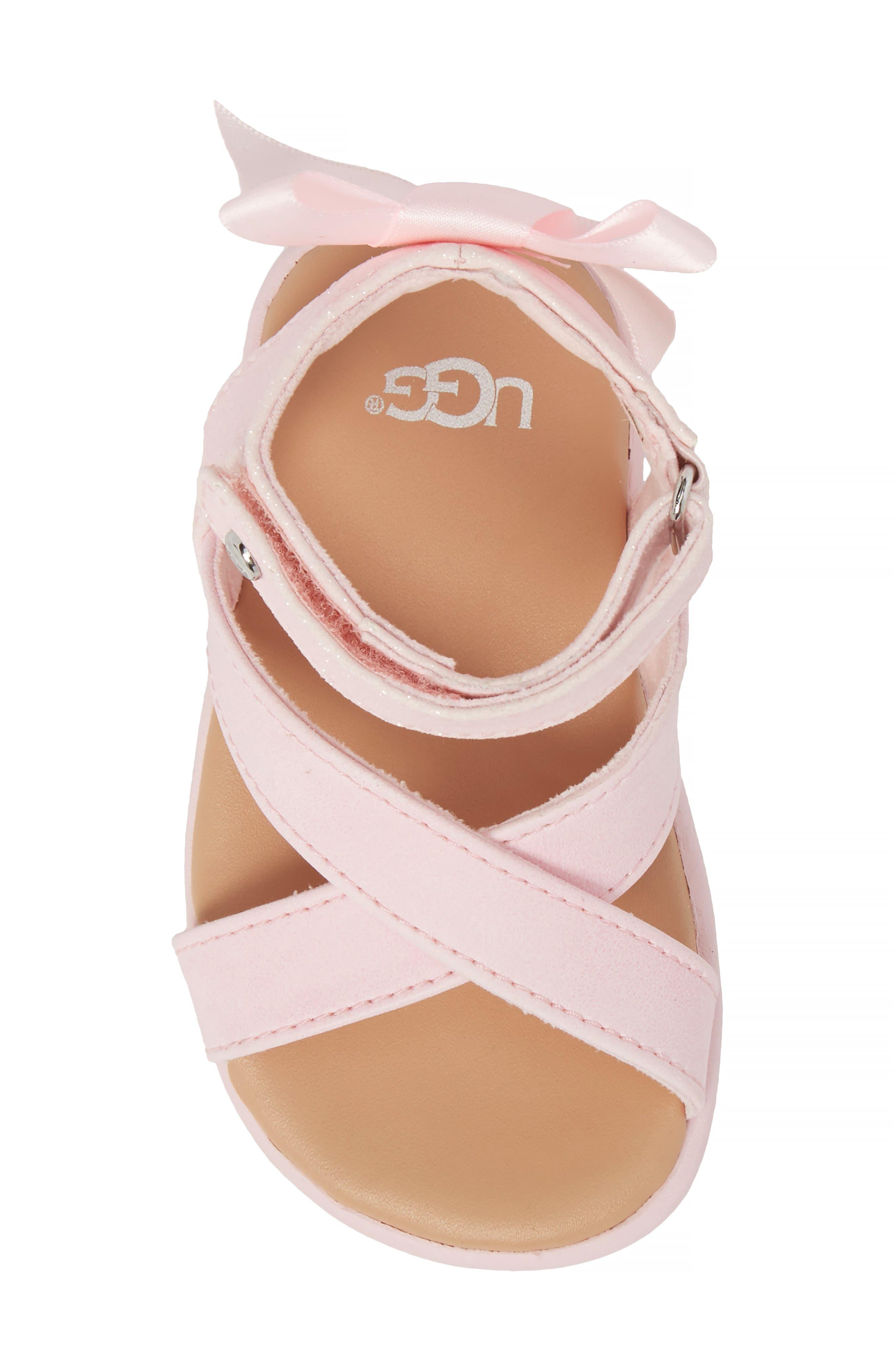 Maggiepie Sparkles Sandal,                             Alternate thumbnail 5, color,                             Seashell Pink