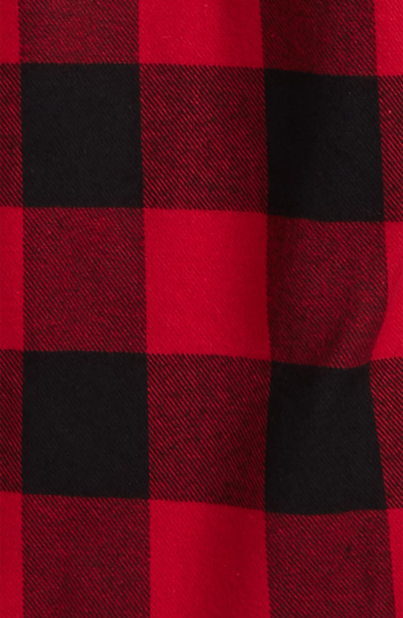 Buffalo Check Woven Shirt,                             Alternate thumbnail 2, color,                             Red Plaid