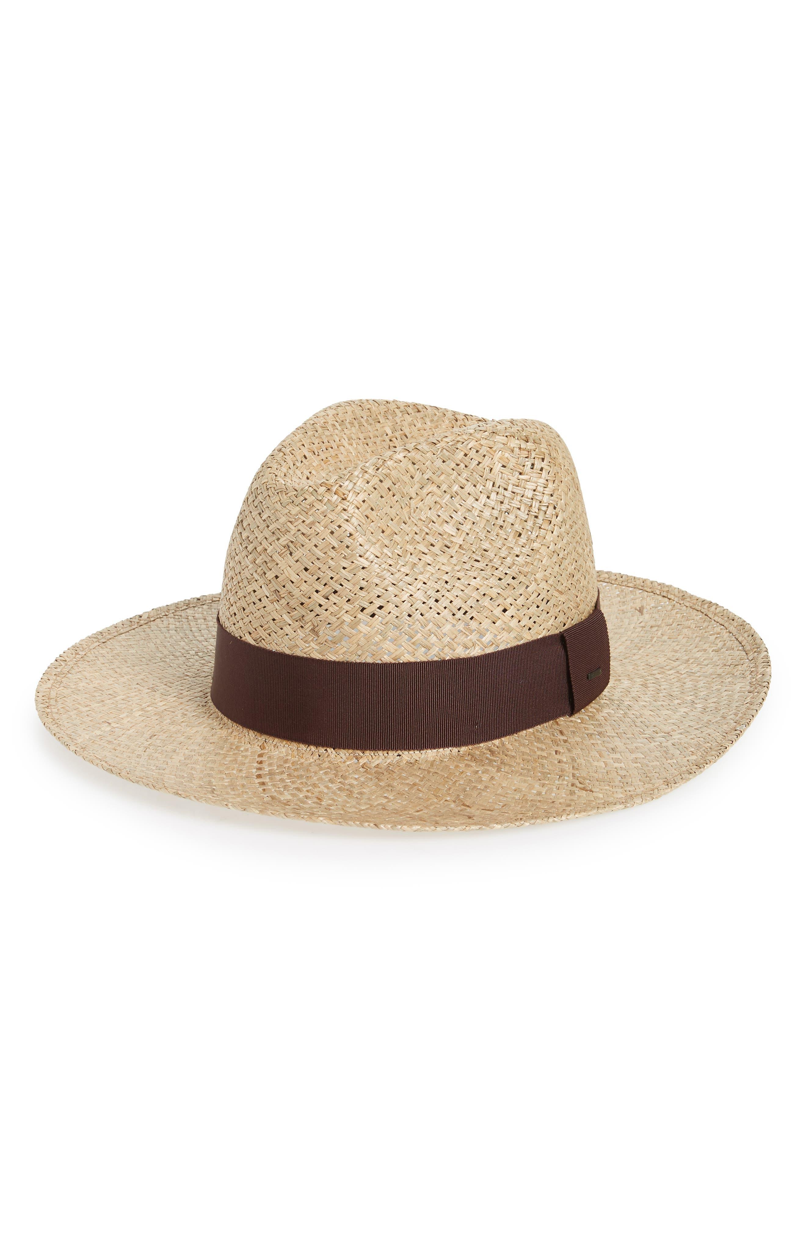 Kasmen Straw Hat,                         Main,                         color, Natural