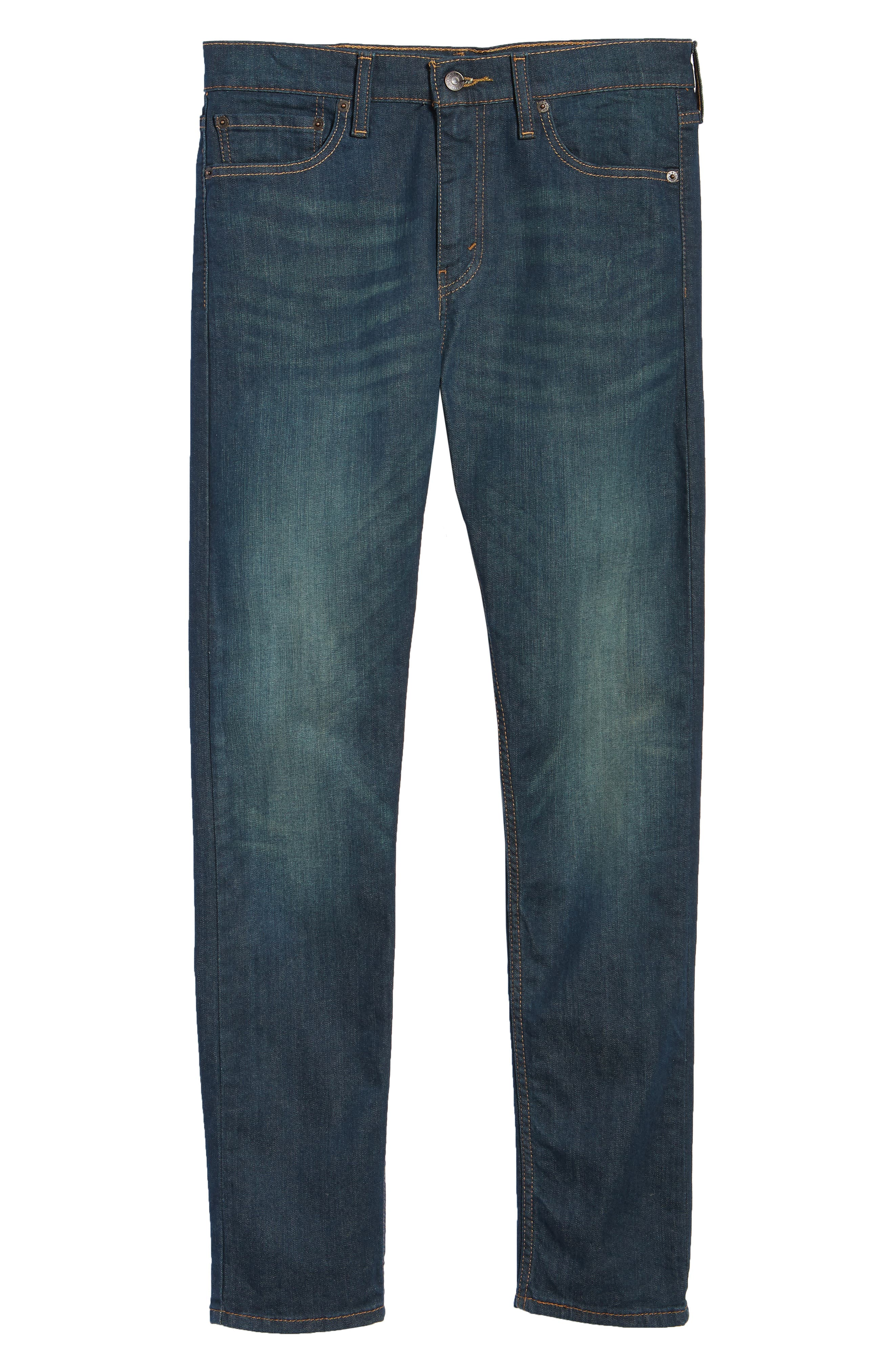 510<sup>™</sup> Skinny Fit Jeans,                             Alternate thumbnail 6, color,                             Midnight