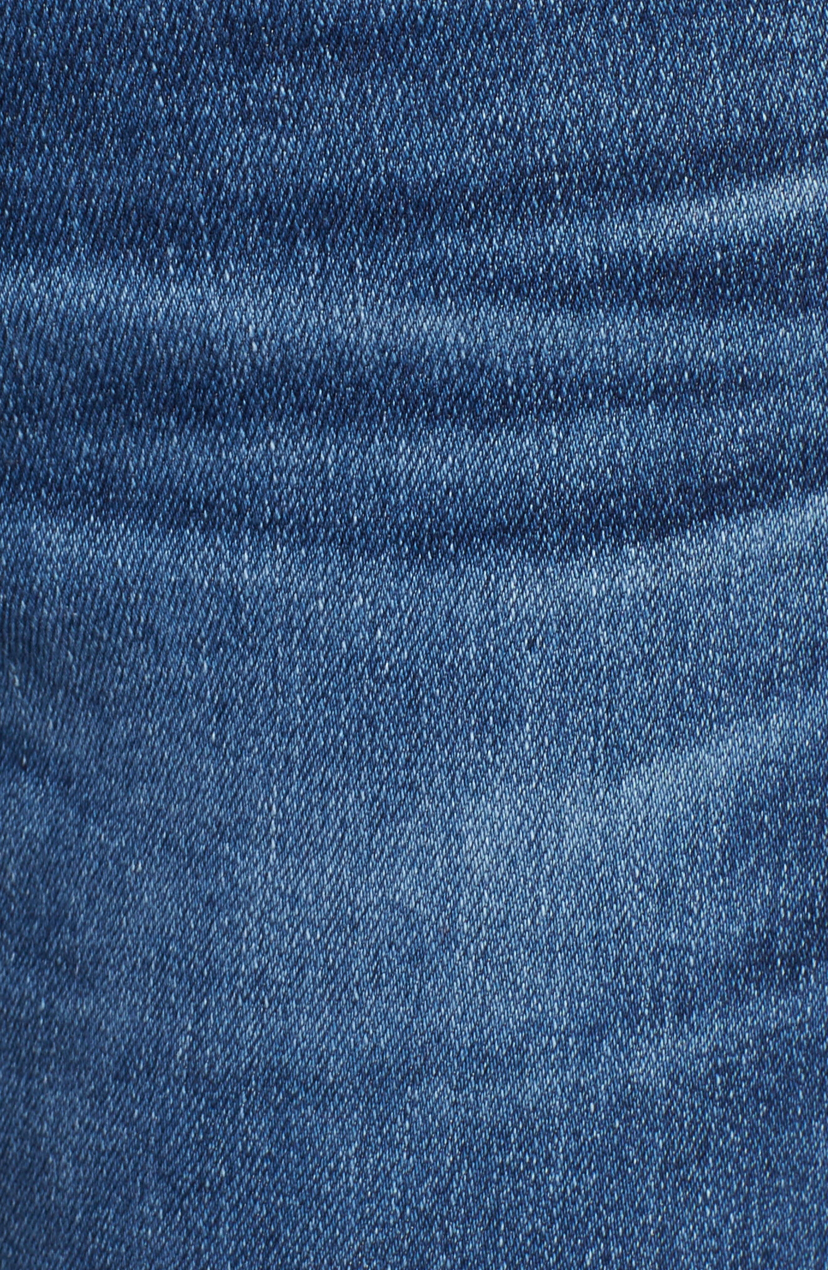 Angel Flare Jeans,                             Alternate thumbnail 6, color,                             10 Years Cambria
