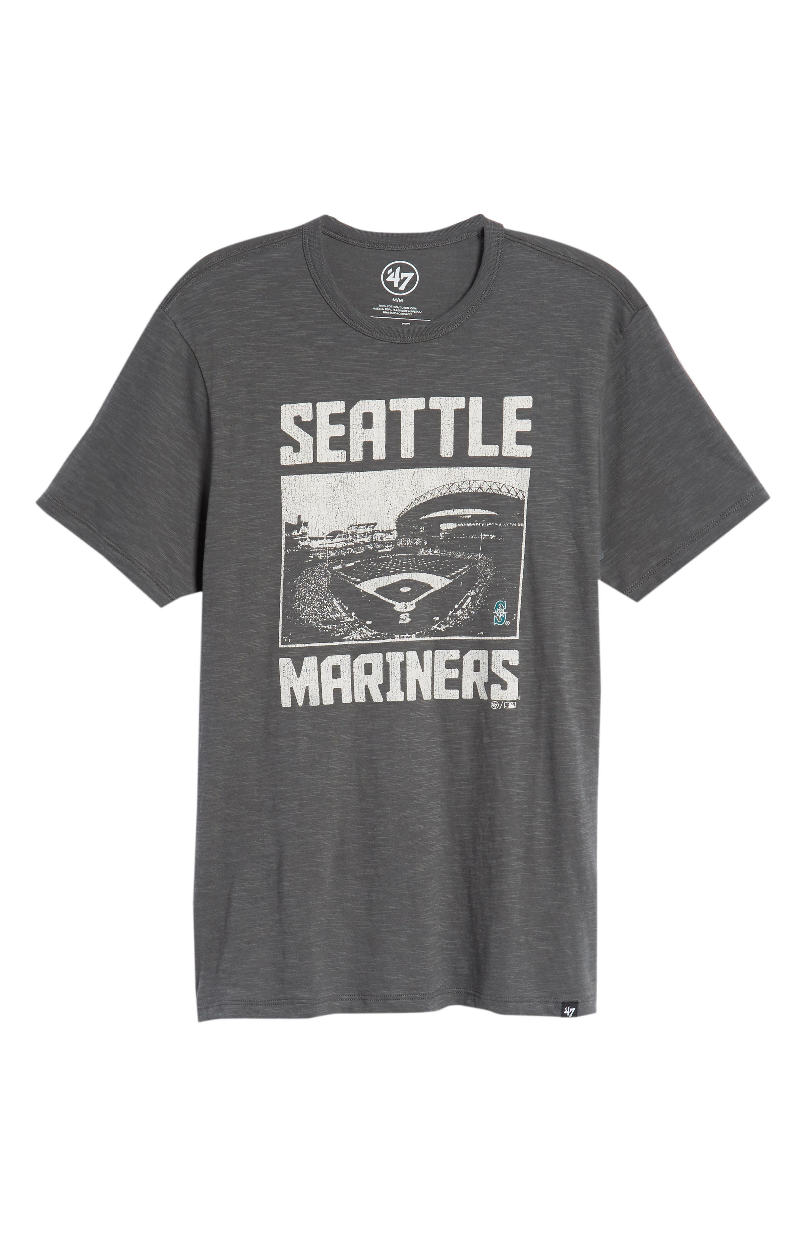 MLB Overdrive Scrum Seattle Mariners T-Shirt,                             Alternate thumbnail 6, color,                             Submarine