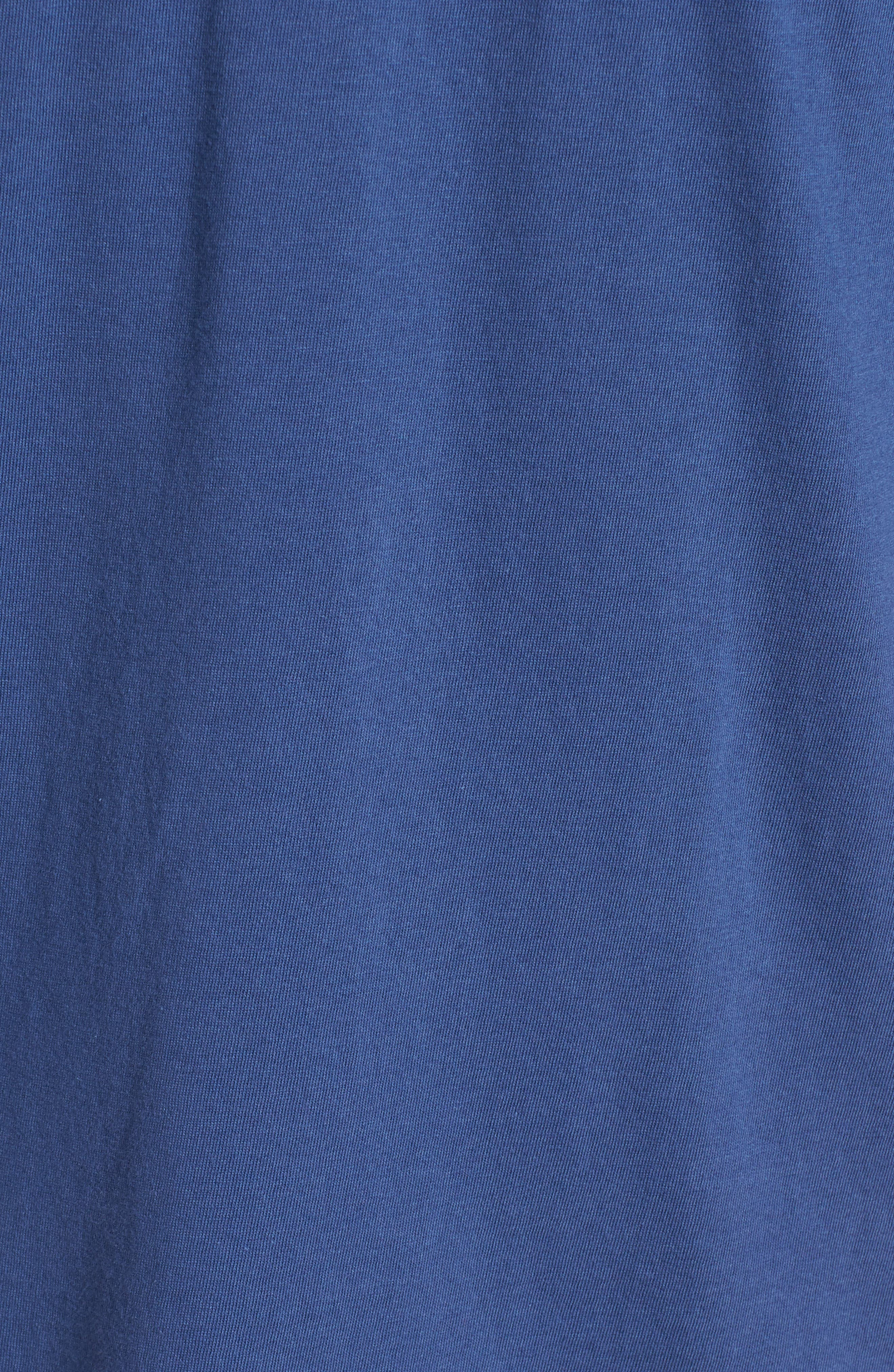 MLB Vintage Fieldhouse Seattle Mariners T-Shirt,                             Alternate thumbnail 5, color,                             Bleacher Blue