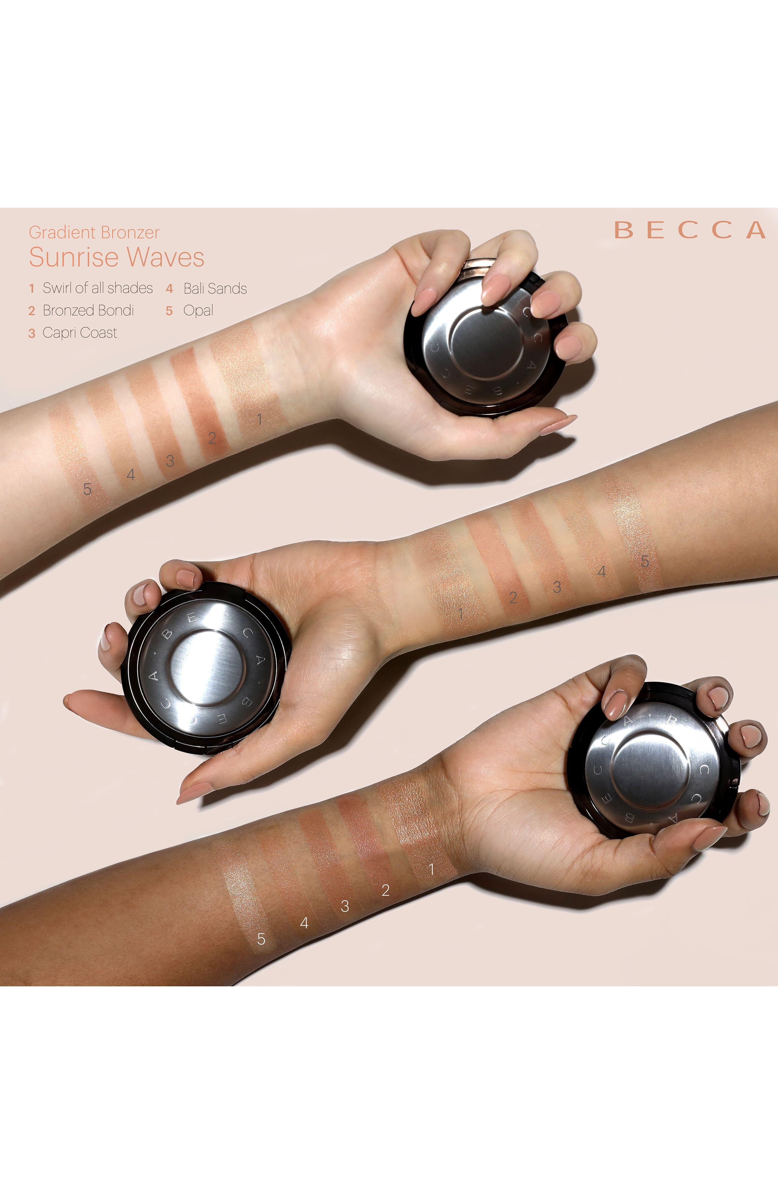 BECCA Gradient Sunlit Bronzer,                             Alternate thumbnail 3, color,