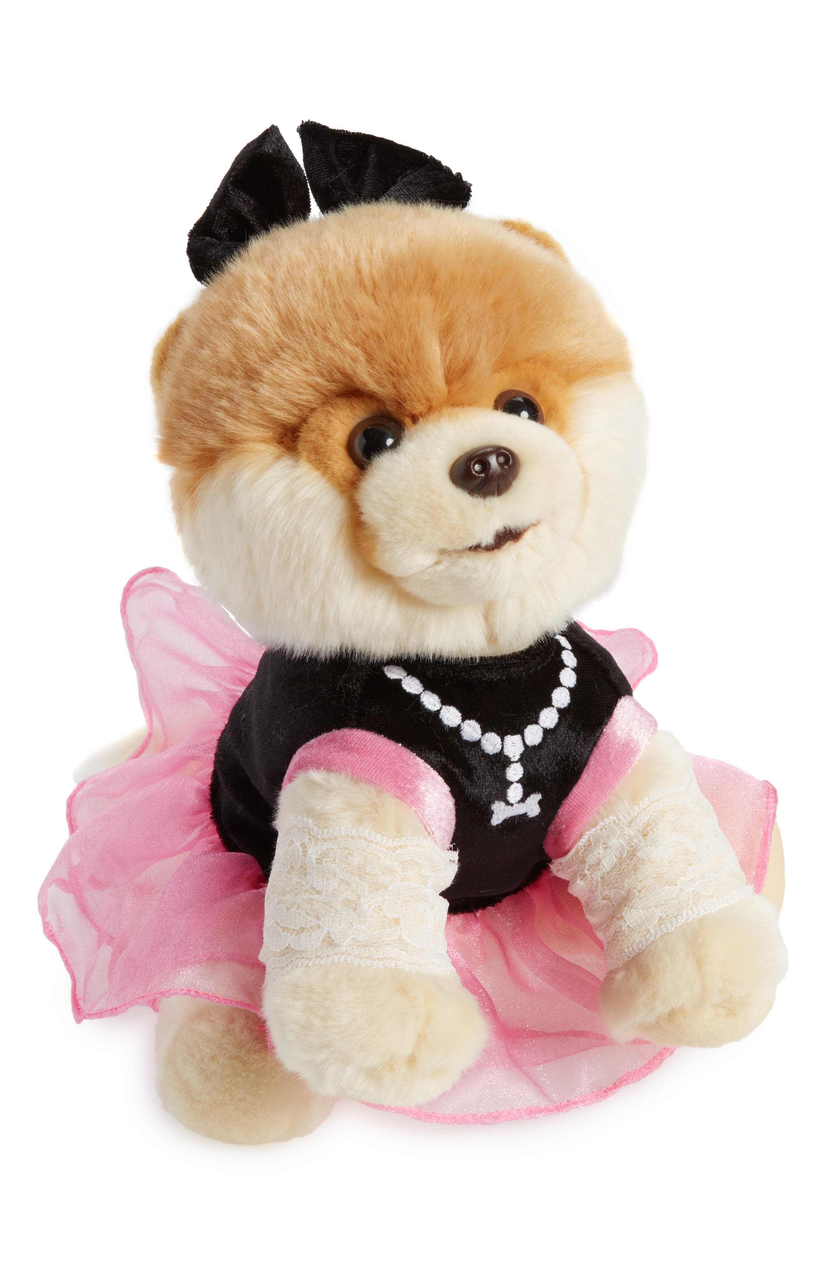 Pop Star Boo Stuffed Animal,                             Main thumbnail 1, color,                             Pink
