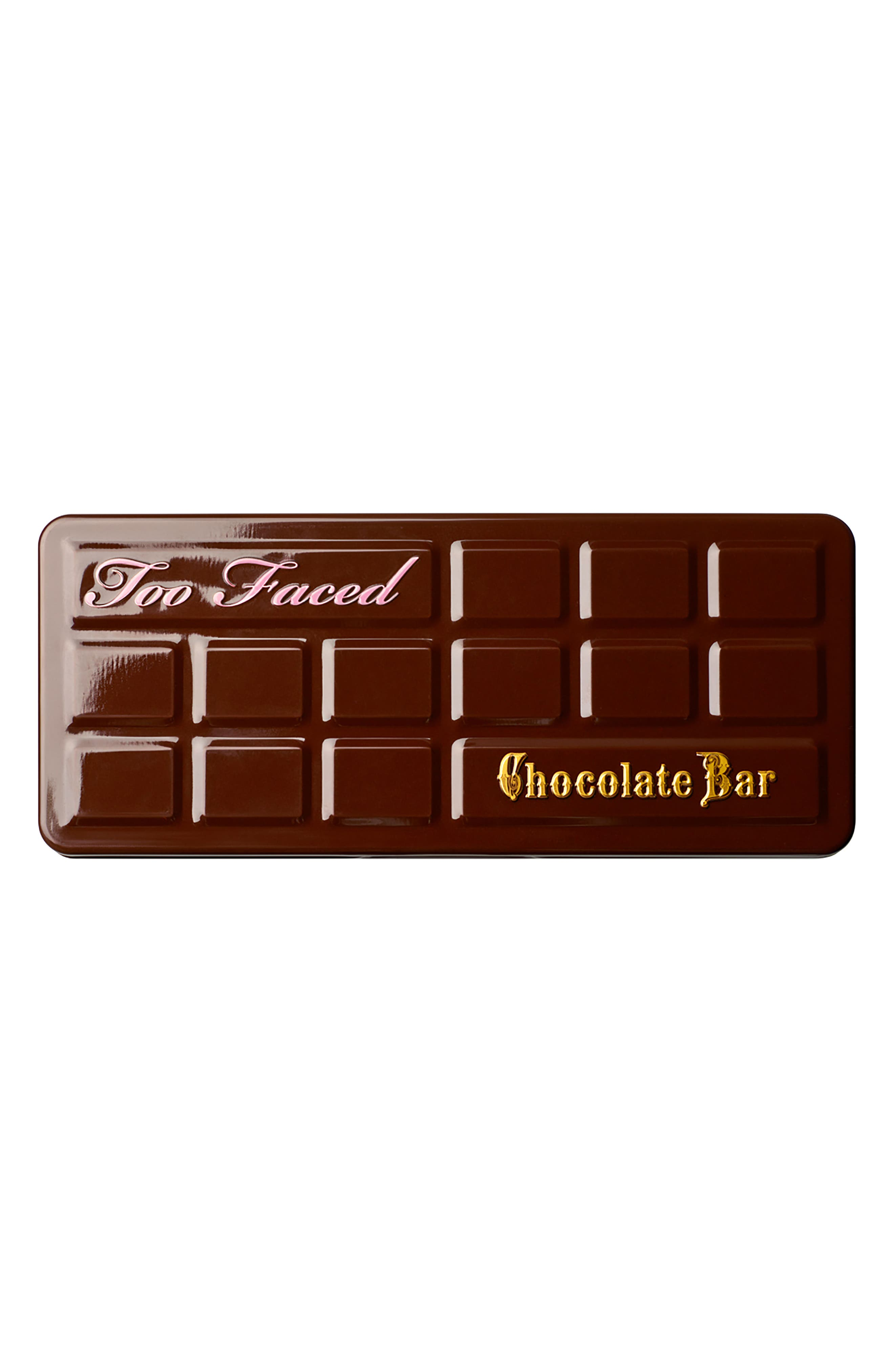 Chocolate Bar Eyeshadow Palette,                             Alternate thumbnail 4, color,                             No Color