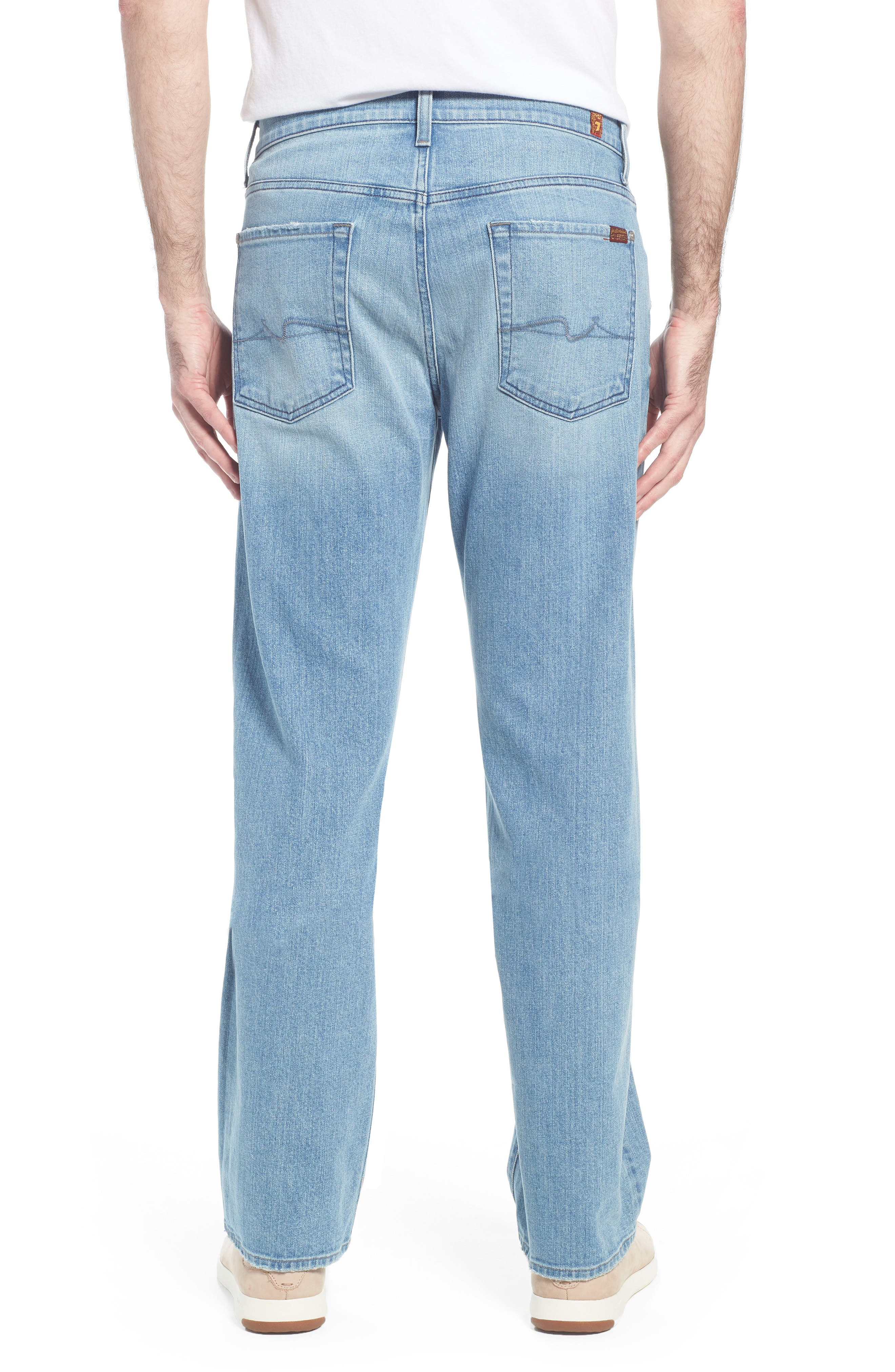 Austyn Relaxed Fit Jeans,                             Alternate thumbnail 2, color,                             Omega