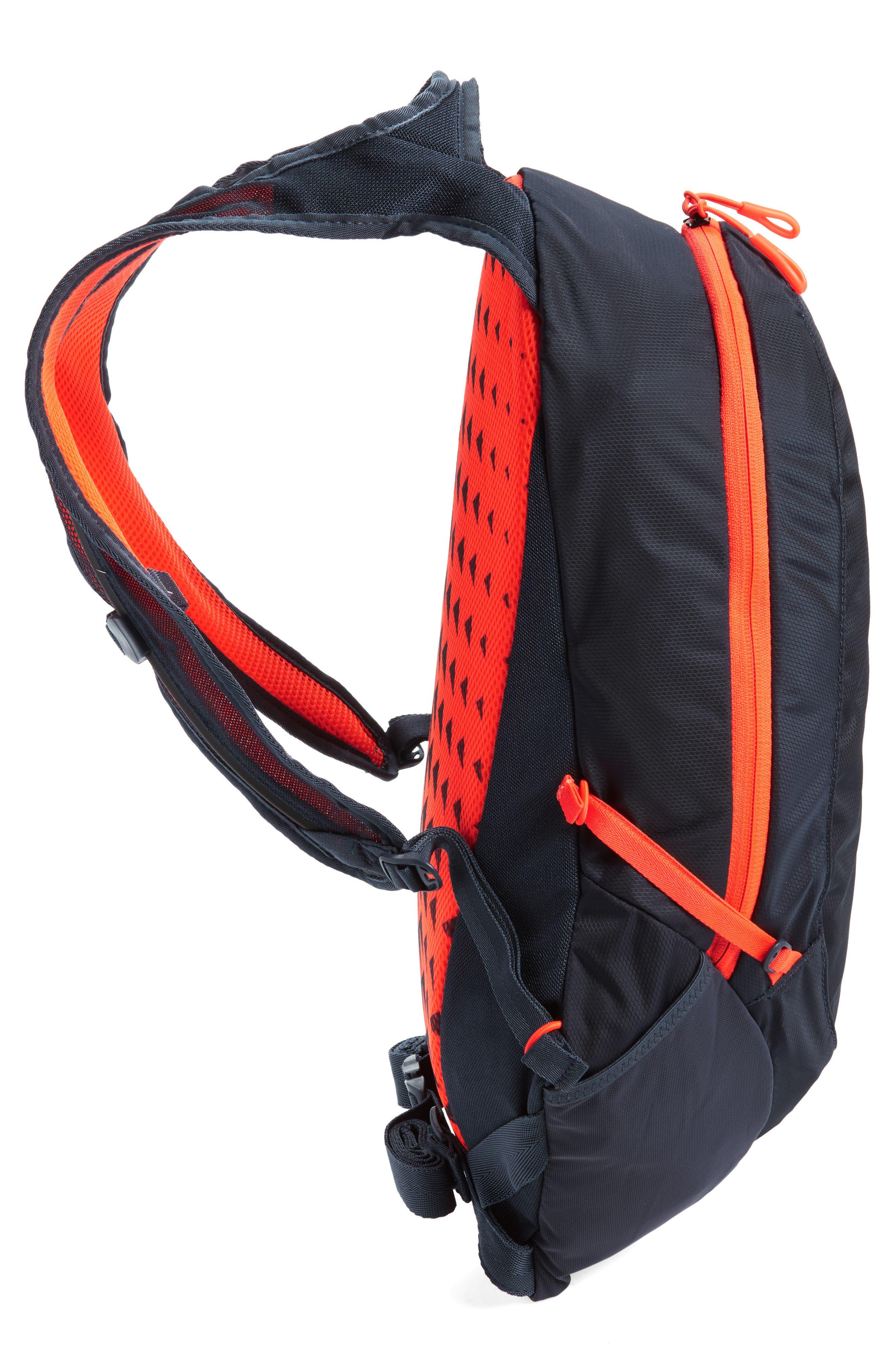 Run Commuter Backpack,                             Alternate thumbnail 5, color,                             Thunder Blue/ Total Crimson