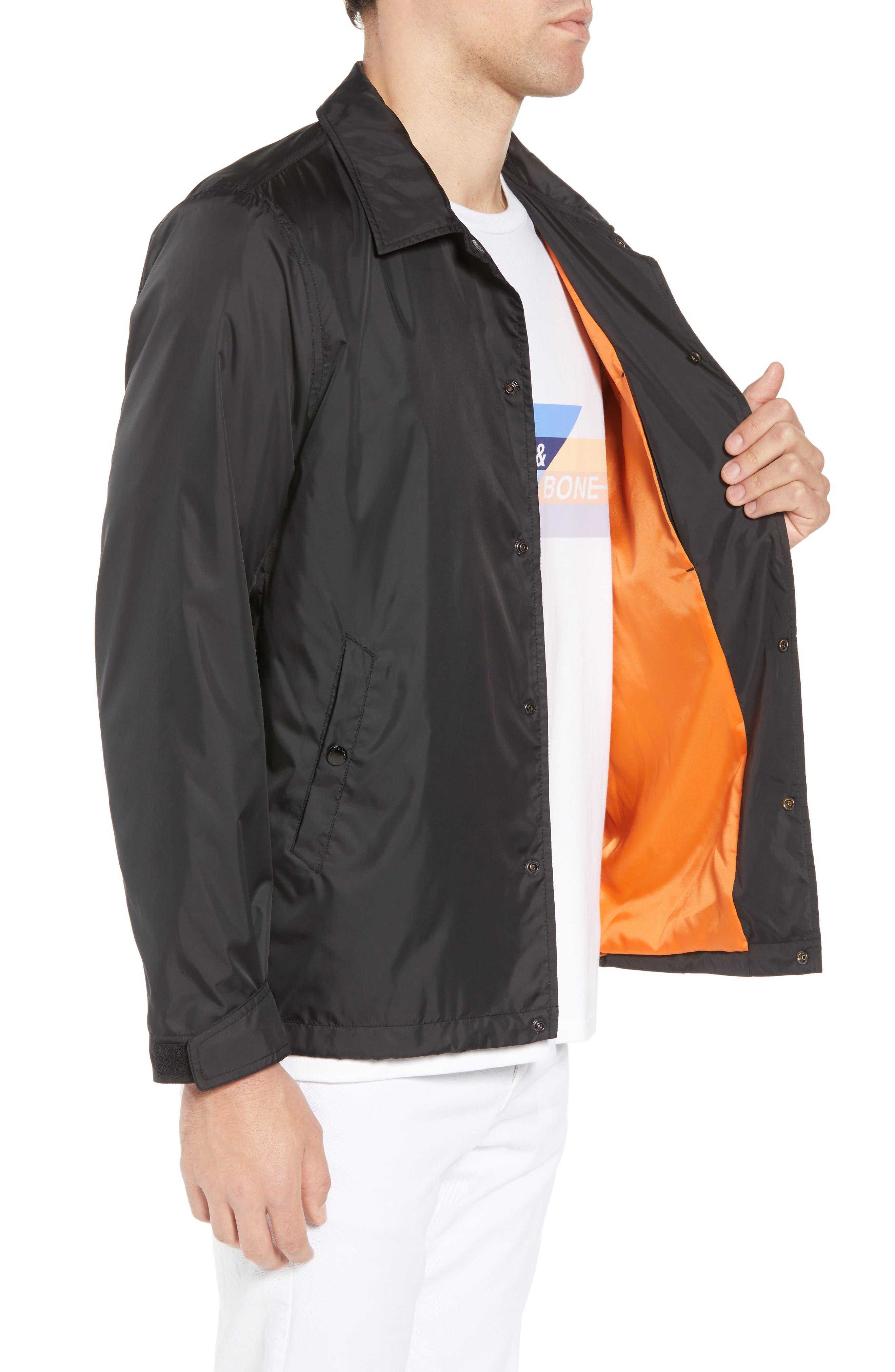 Coaches Jacket,                             Alternate thumbnail 3, color,                             Black