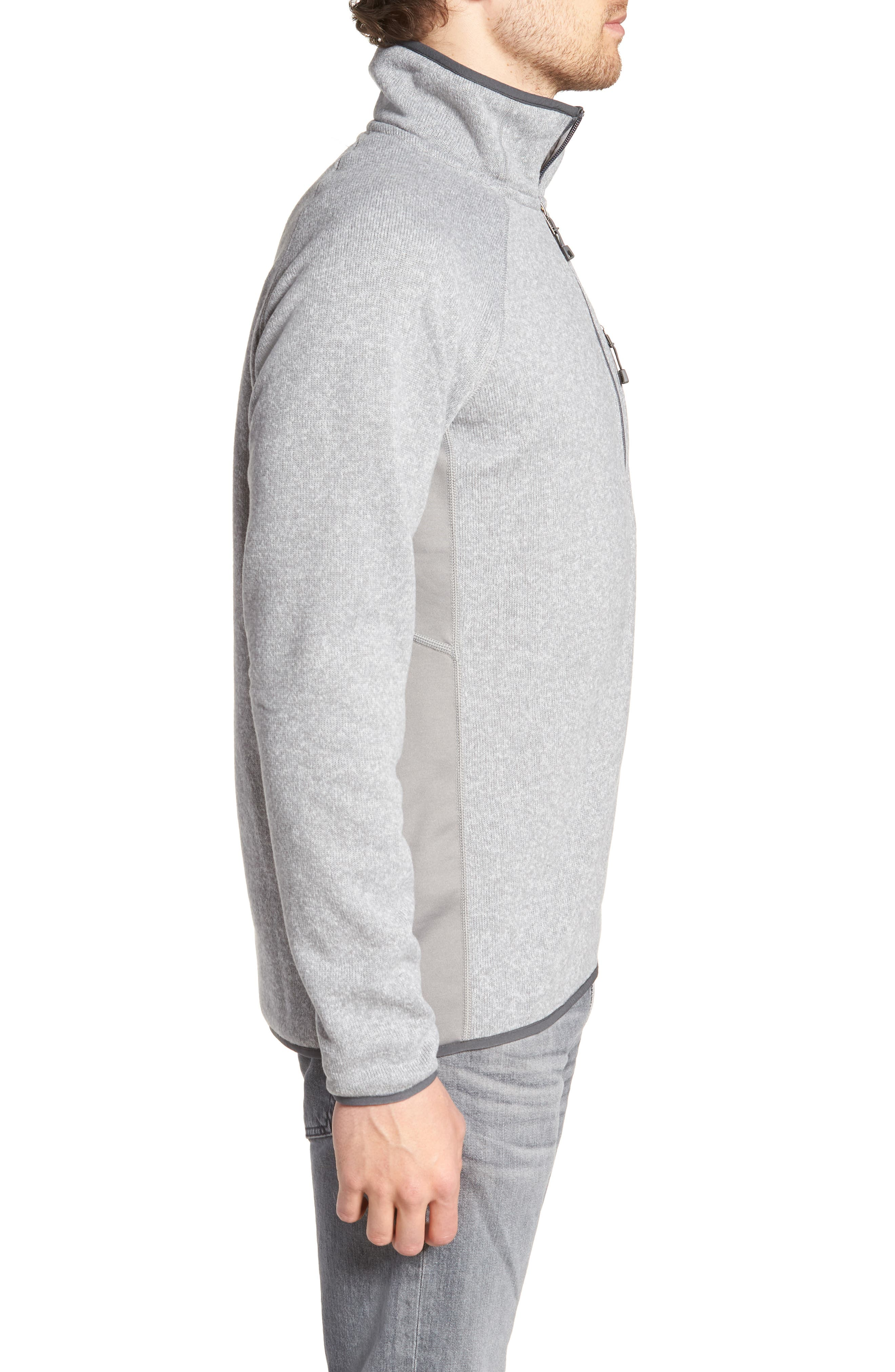 Performance Pullover,                             Alternate thumbnail 3, color,                             Feather Grey