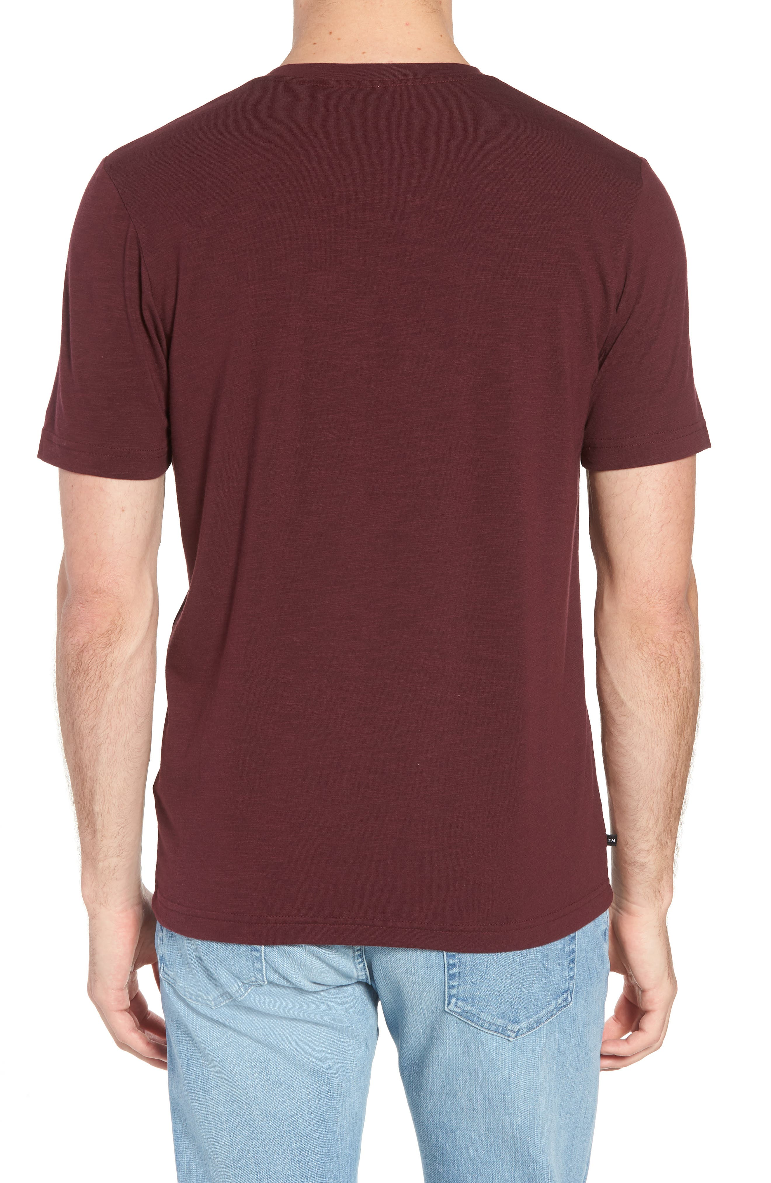 Alternate Image 2  - Travis Mathew 'Trumbull' Trim Fit Slubbed T-Shirt