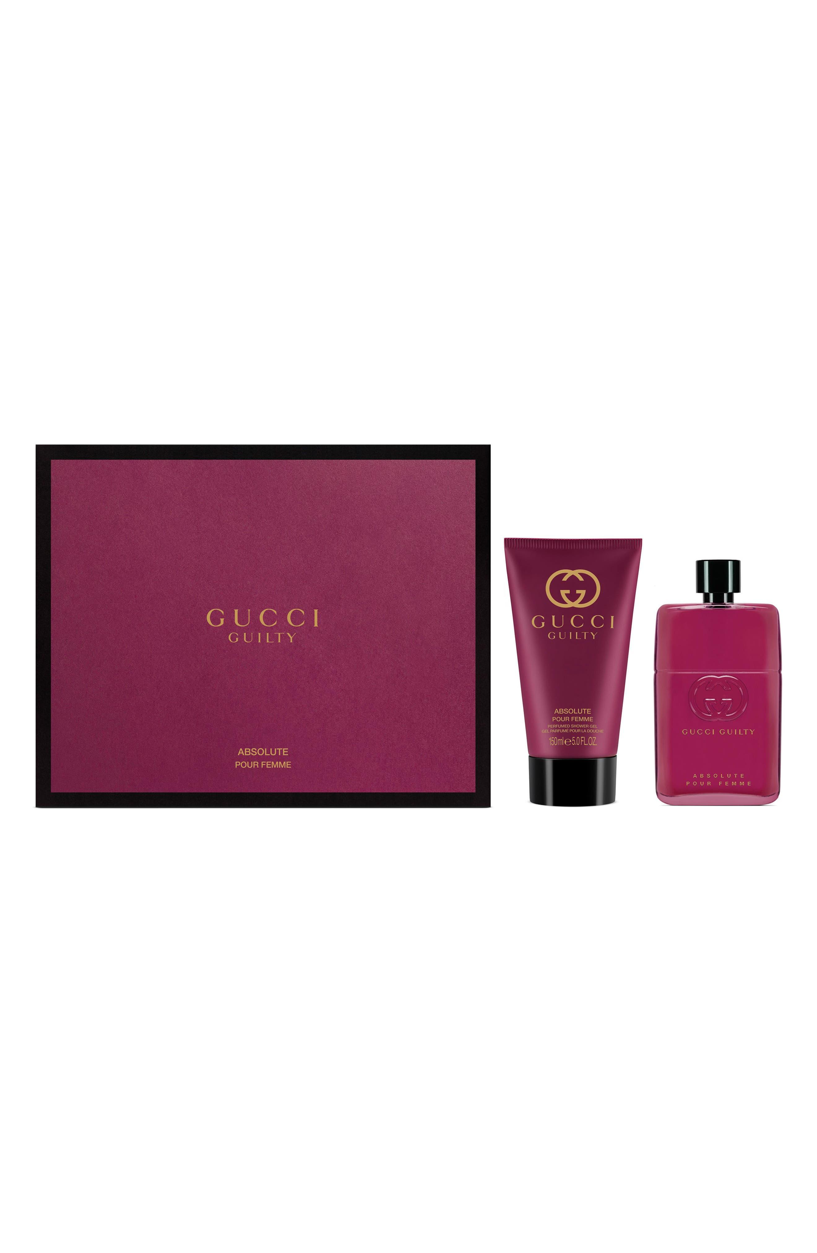 Guilty Absolute Pour Femme Eau de Parfum Set,                             Main thumbnail 1, color,                             No Color