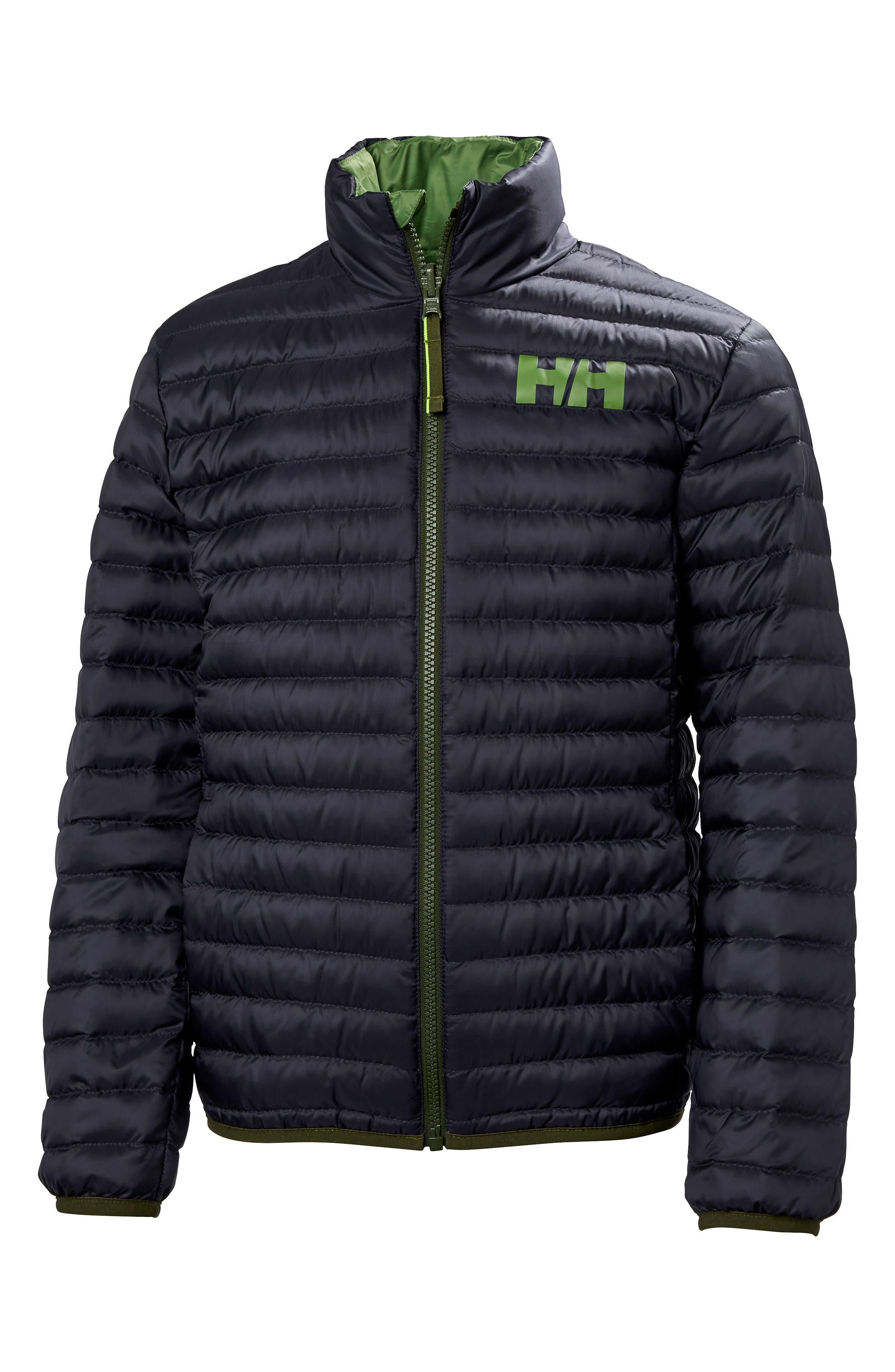 Helly Hansen Barrier Reversible Down Insulator Jacket (Big Boys)