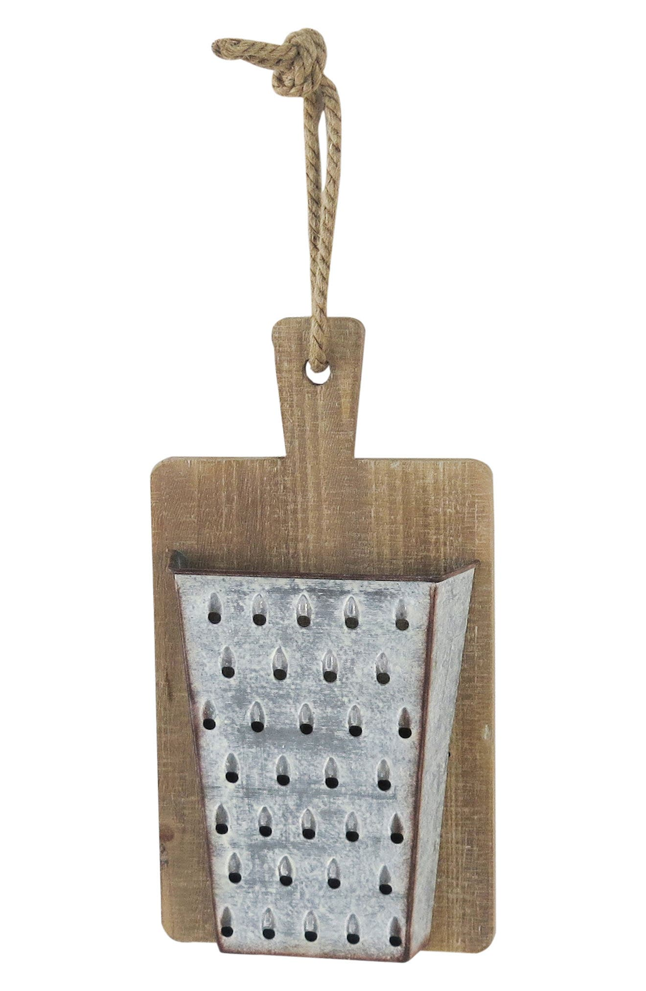 Foreside Cheese Grater Wall Art