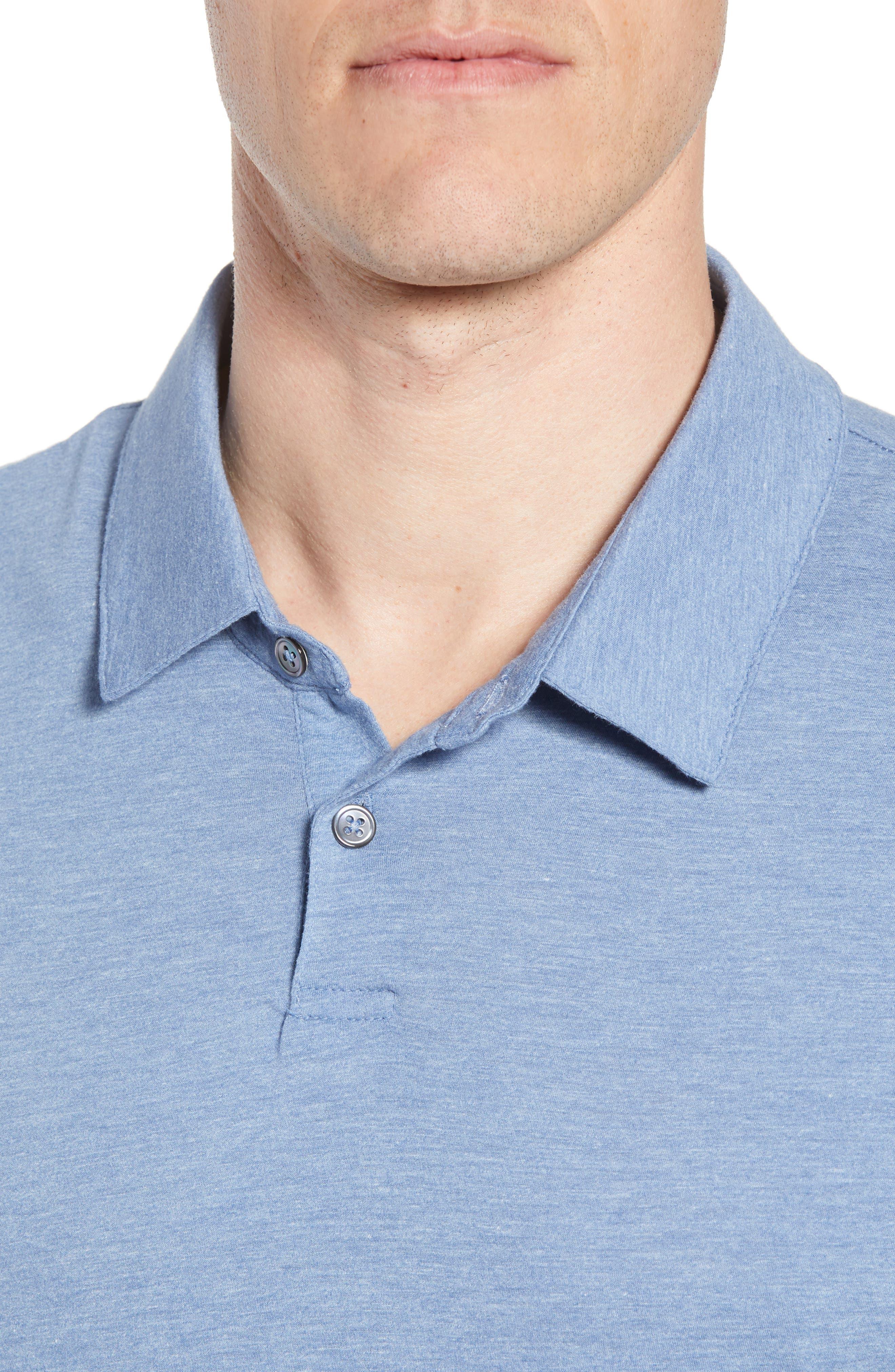 Alternate Image 4  - James Perse Point Collar Polo (Men)