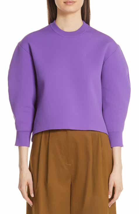 Tibi Sculpted Sleeve Sweater