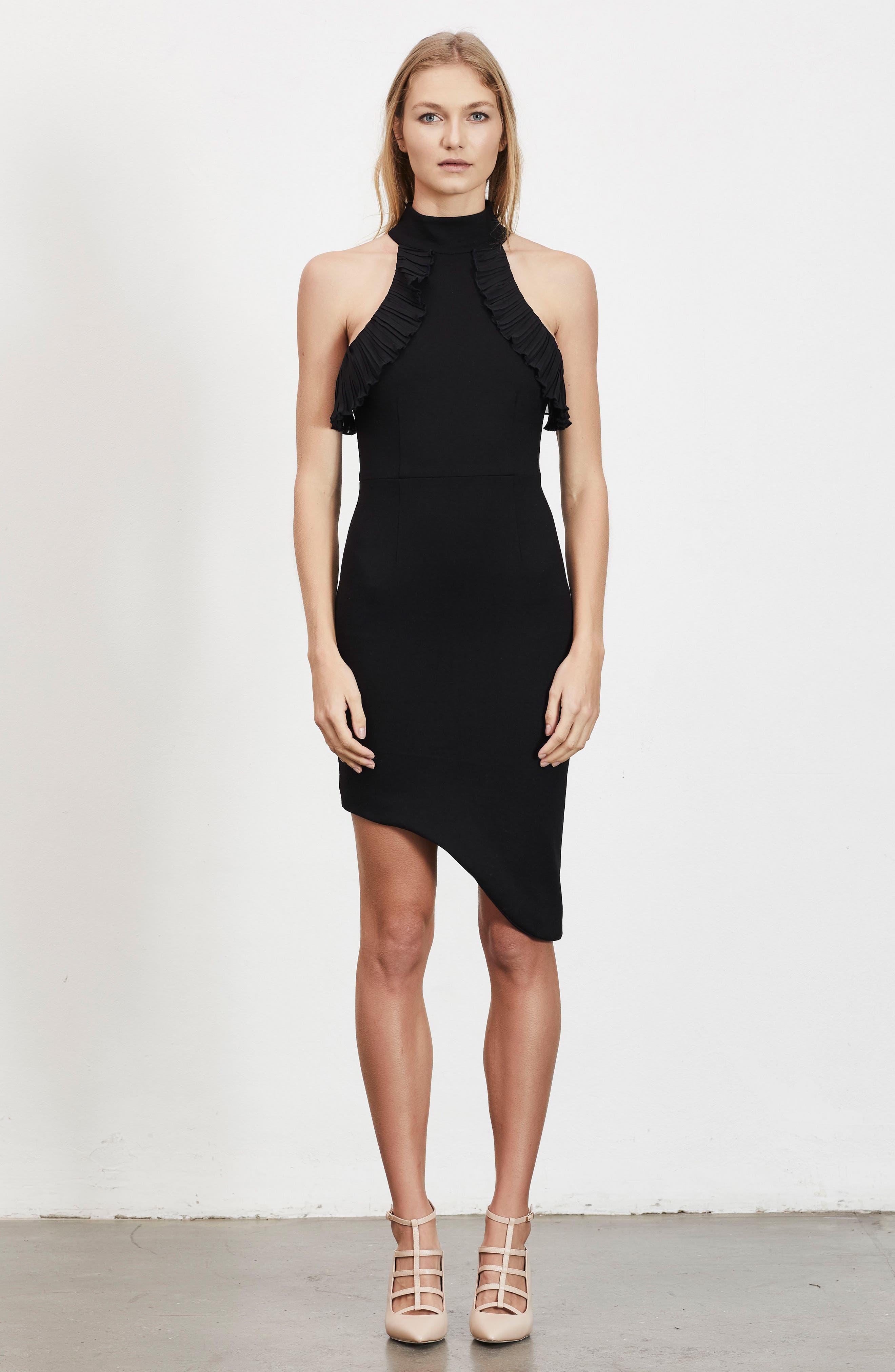 Exposition Dress,                             Alternate thumbnail 2, color,                             Black
