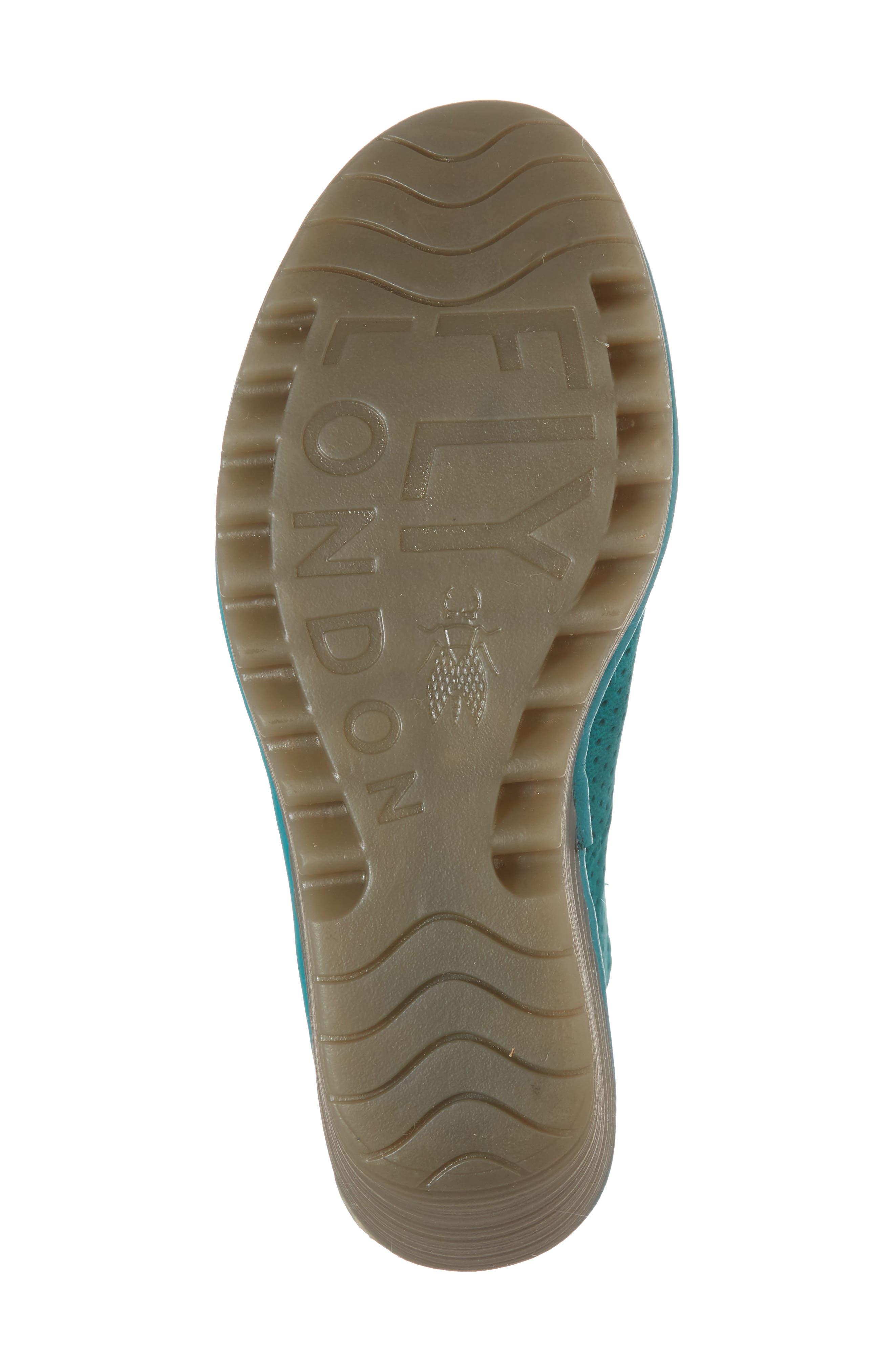 Alternate Image 6  - Fly London 'Yala' Perforated Leather Sandal