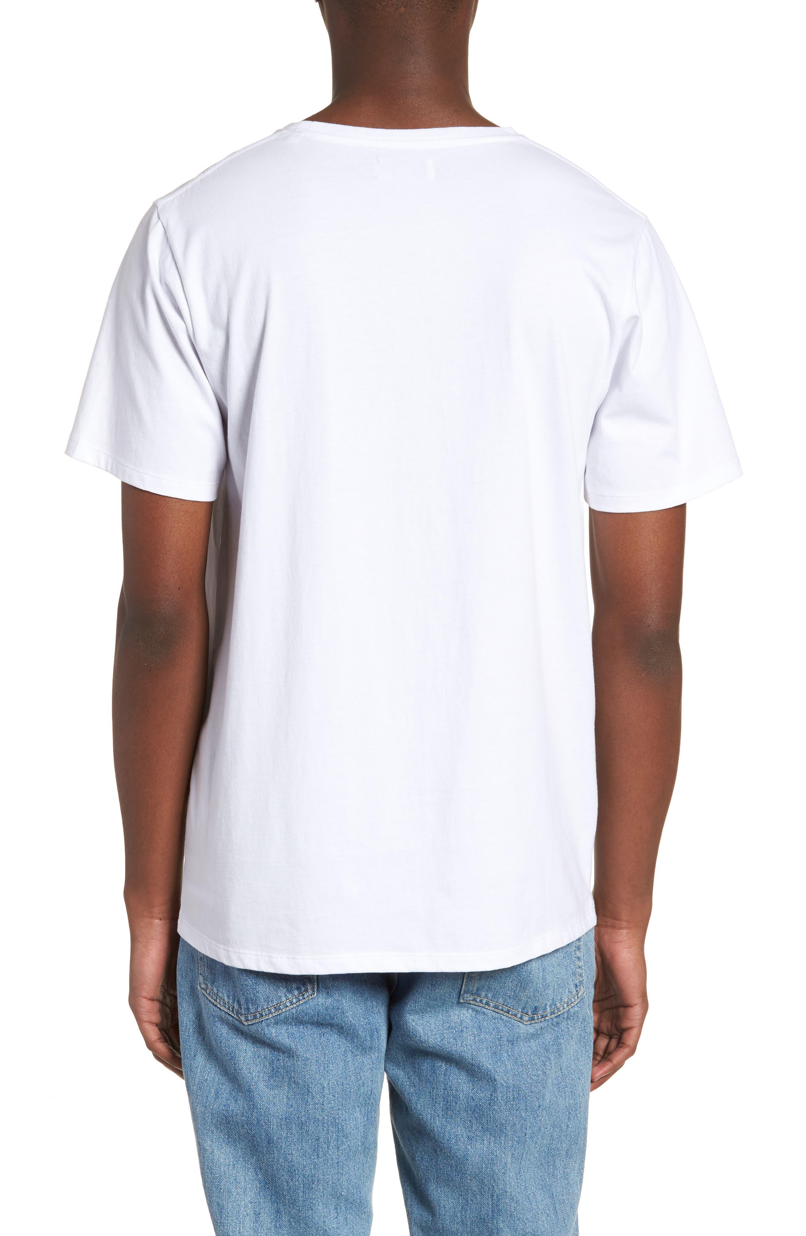 Miller Standard T-Shirt,                             Alternate thumbnail 2, color,                             White