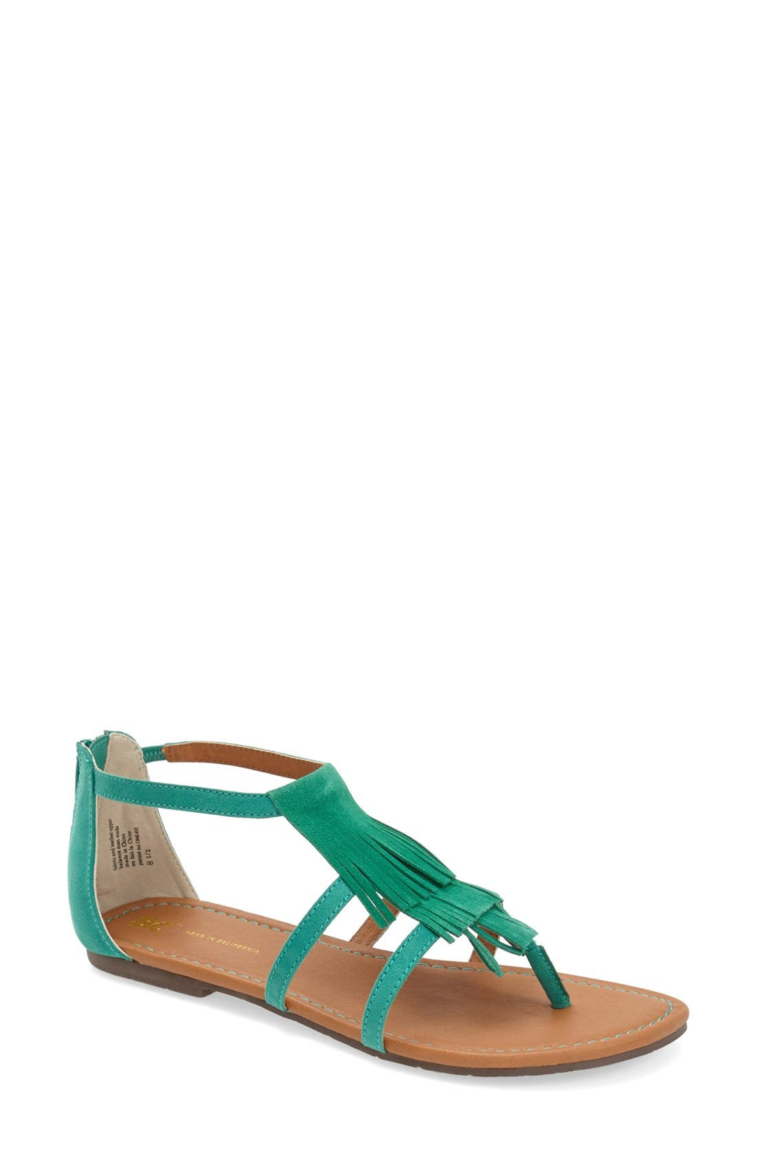 Main Image - BC Footwear 'Maltese' Fringe Sandal (Women)