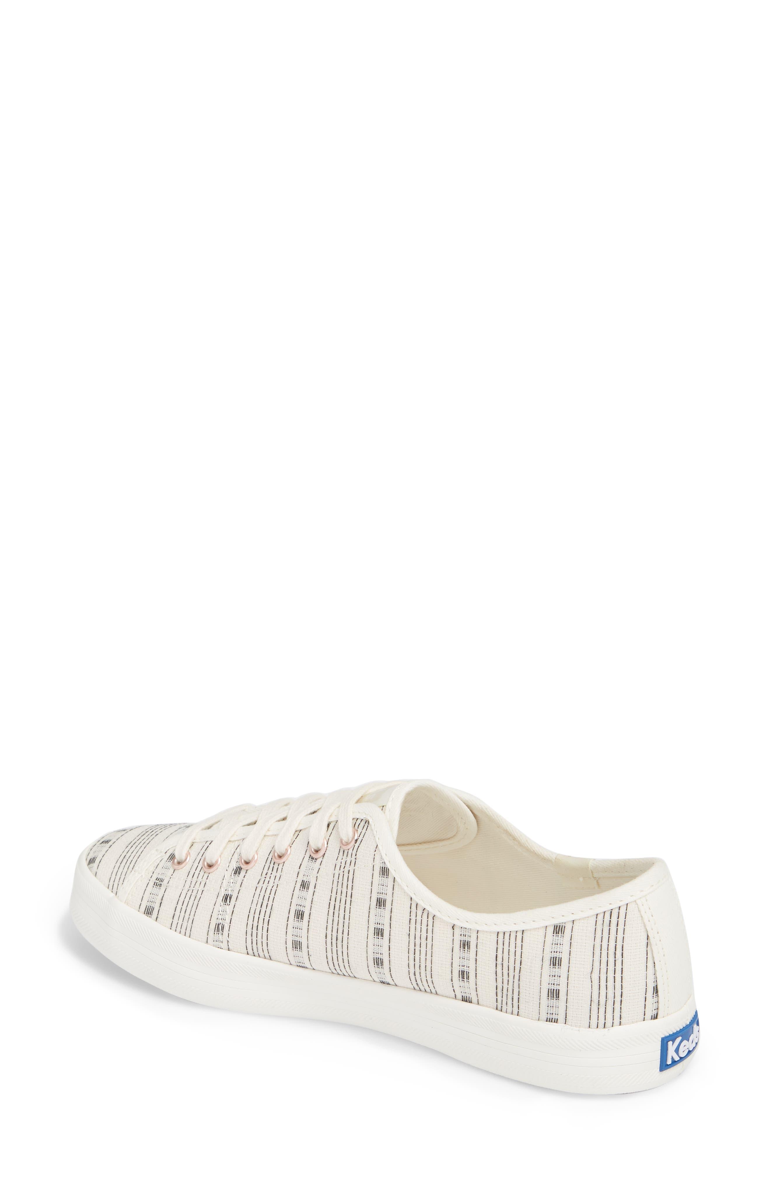 Kickstart Summer Stripe Sneaker,                             Alternate thumbnail 2, color,                             Cream